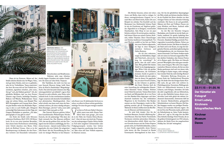 Blau Kunstmagazin