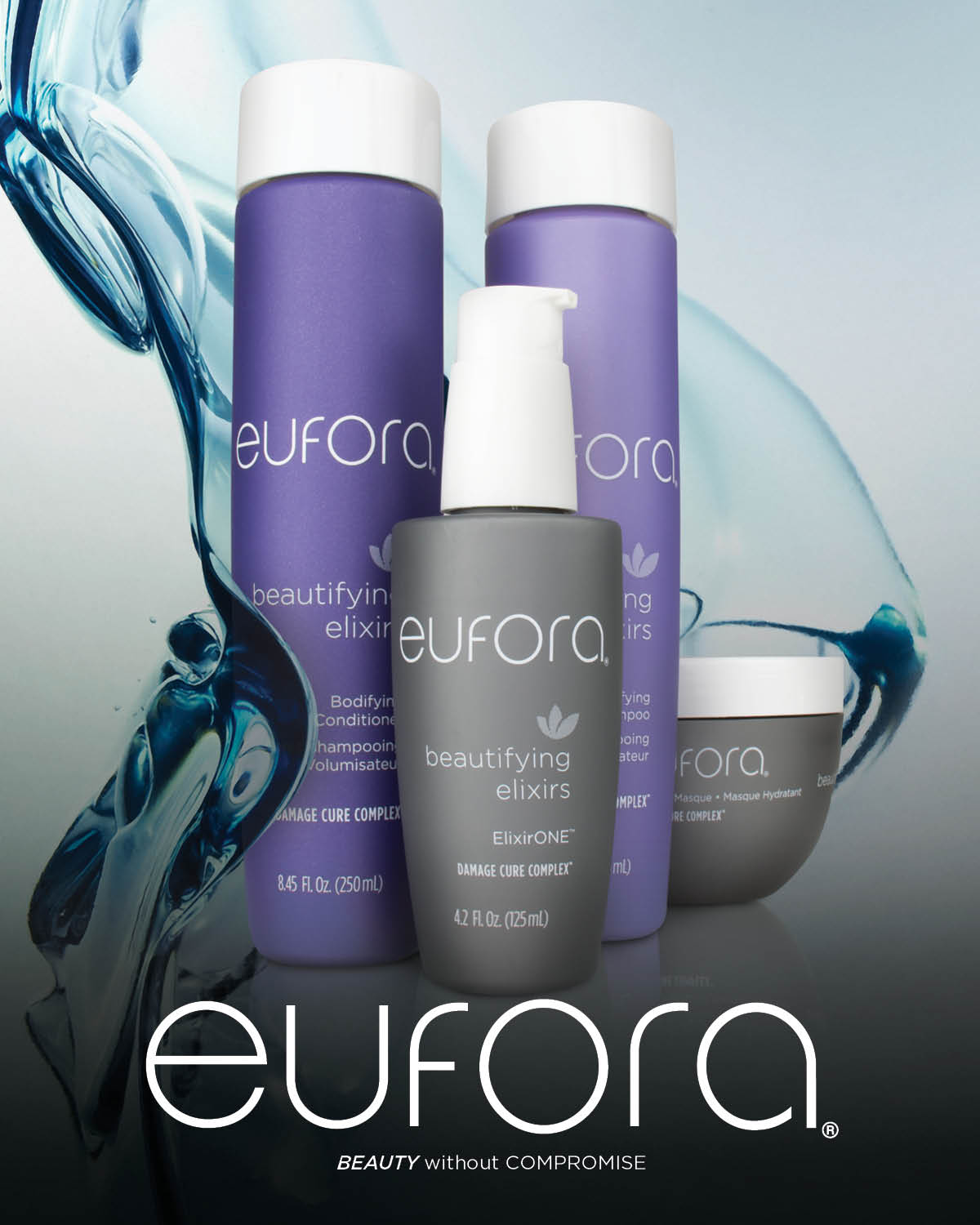 - Eufora is a pharmaceutical grade aloe vera based product. Advanced technology utilizes important botanical extracts that have been scientifically proven to benefit the hair, scalp and skin. Eufora is committed to the environment and the safety of the consumer that uses their product. It is petro-chemical and paraben free. Eufora strives to create products that not only provide performance, they also maintain a high level of integrity with unique botanical ingredients and performance benefits above all.