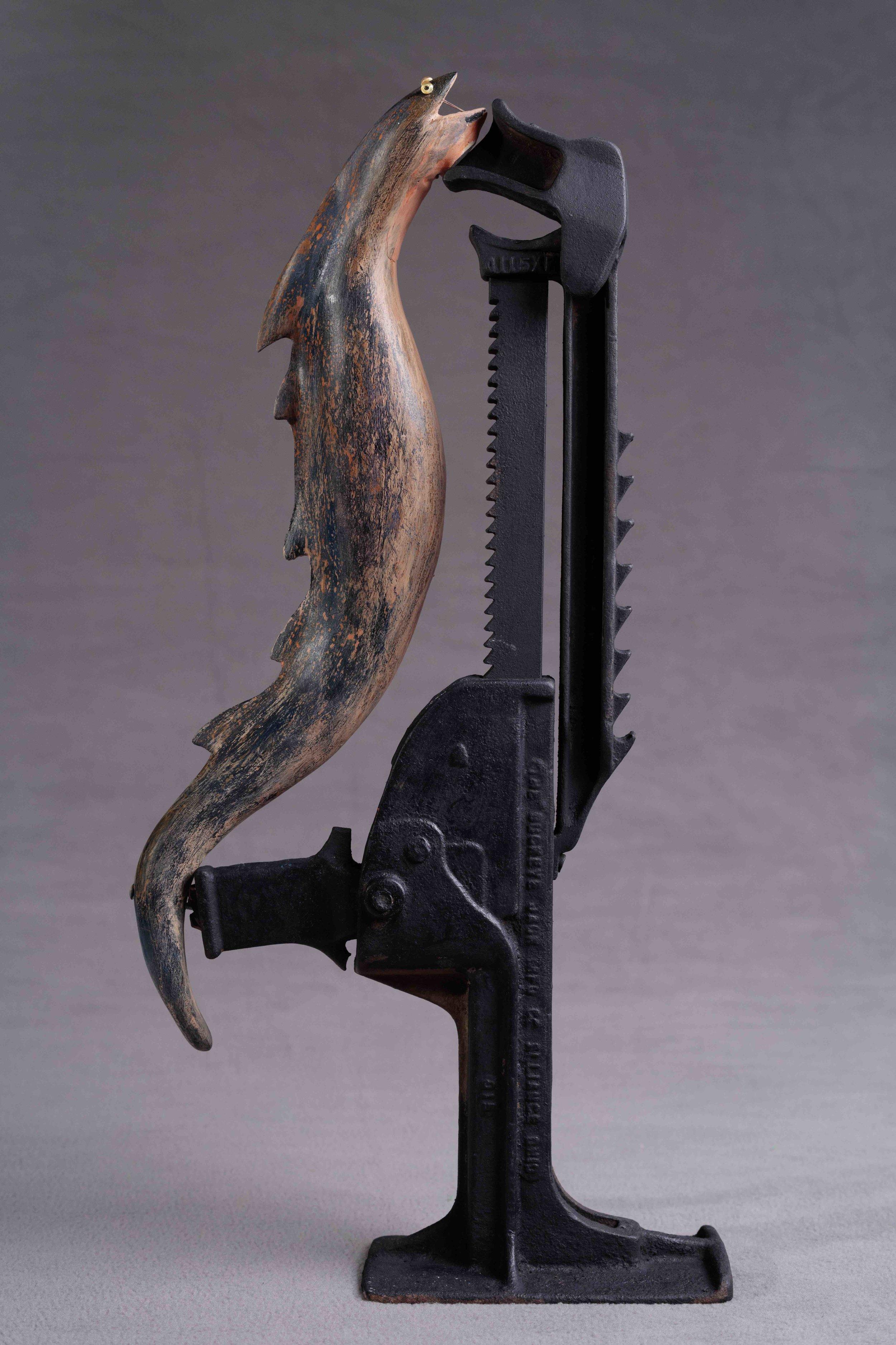 Jack & Eel, Opposites Attract at Boston Sculptors, Feb.2019