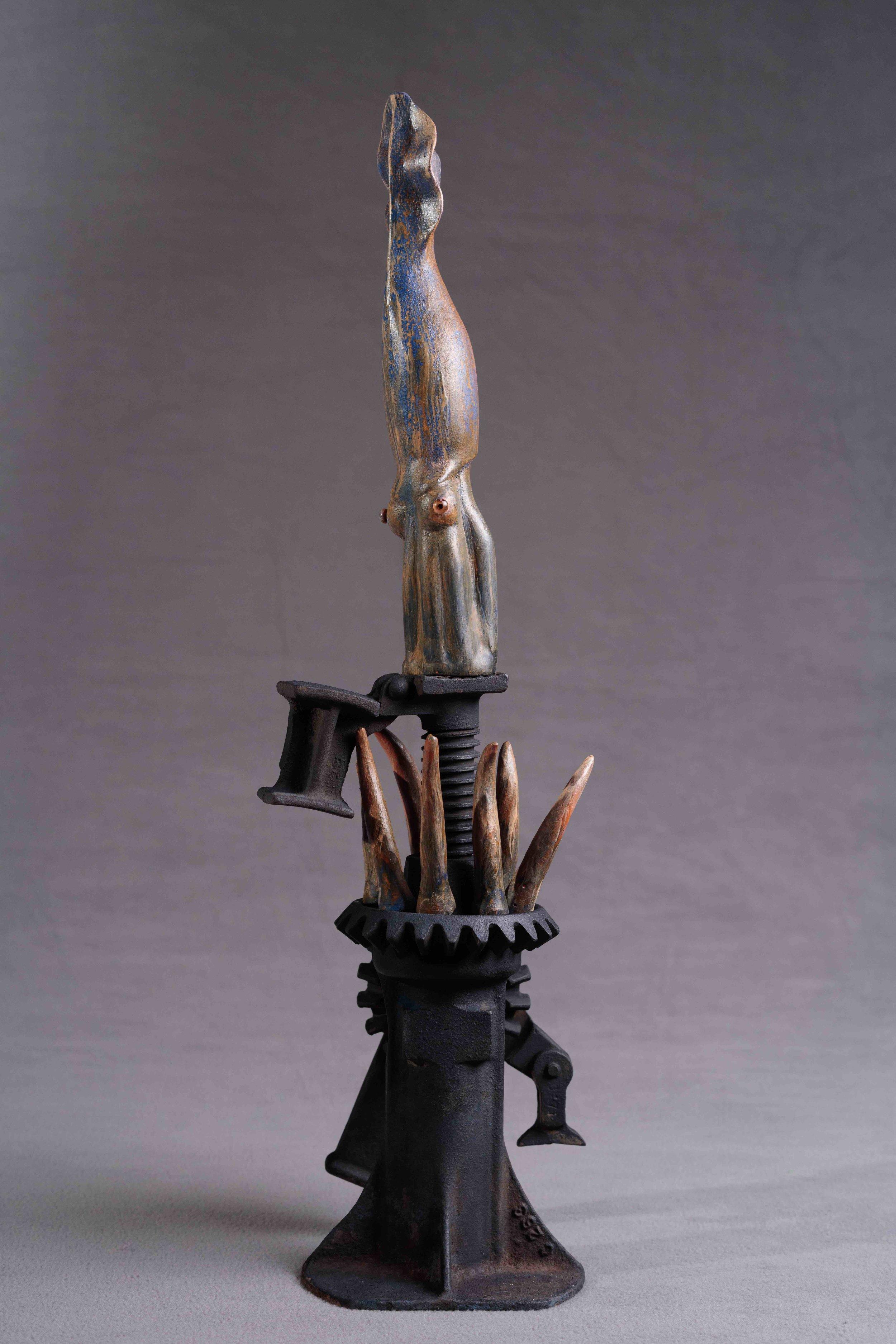 Squid & Jack, Opposites Attract, Feb. 2019,Boston Sculptors Gallery