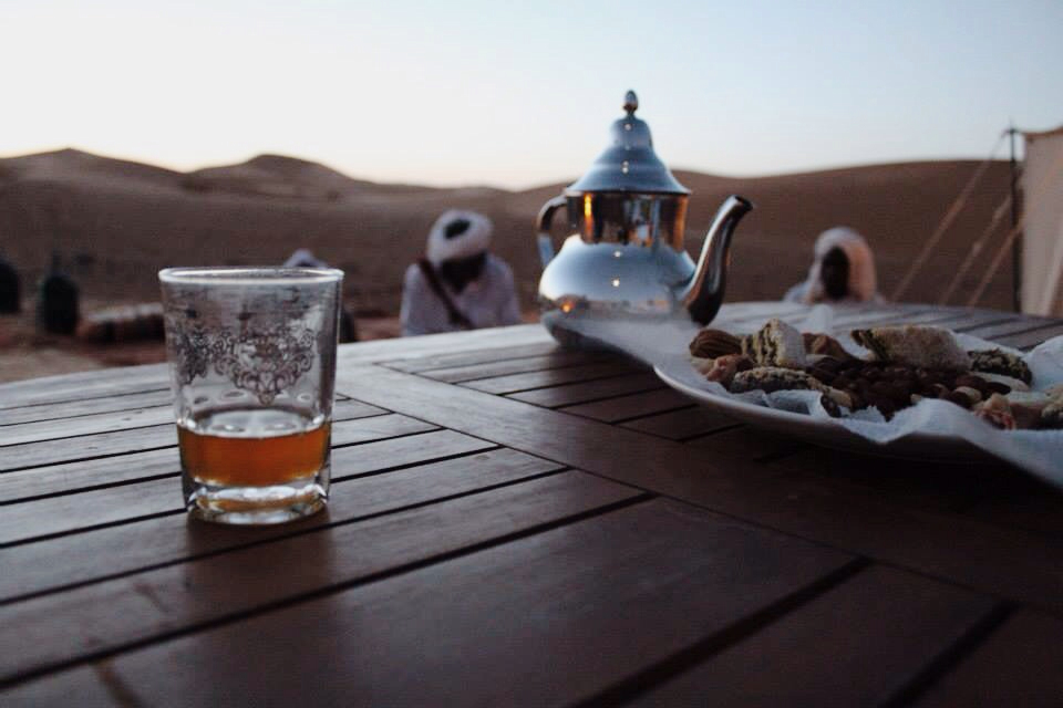 Moroccan tea vegan in morocco