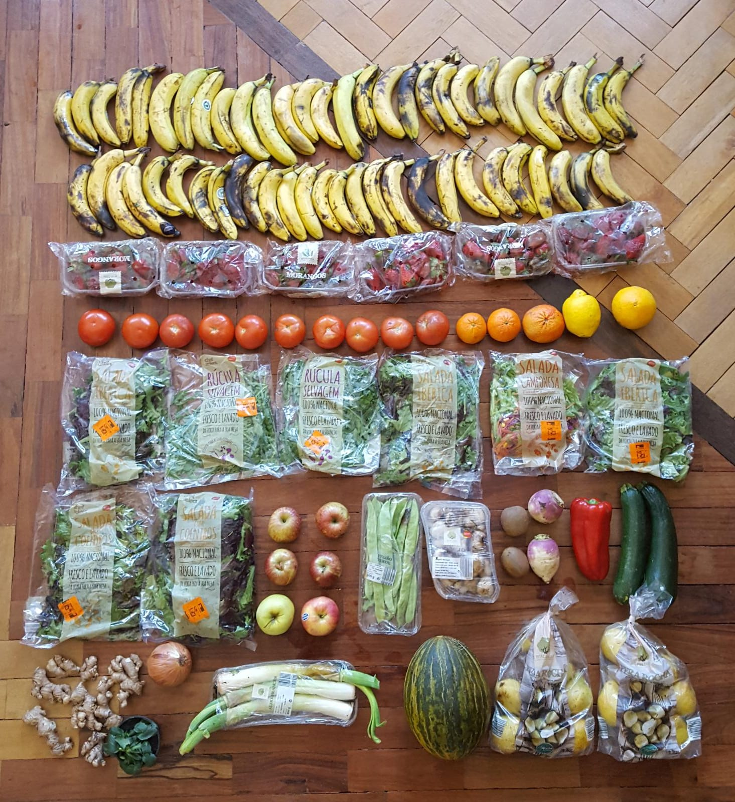 Fruits of dumpster diving! Credit: Anna Masiello