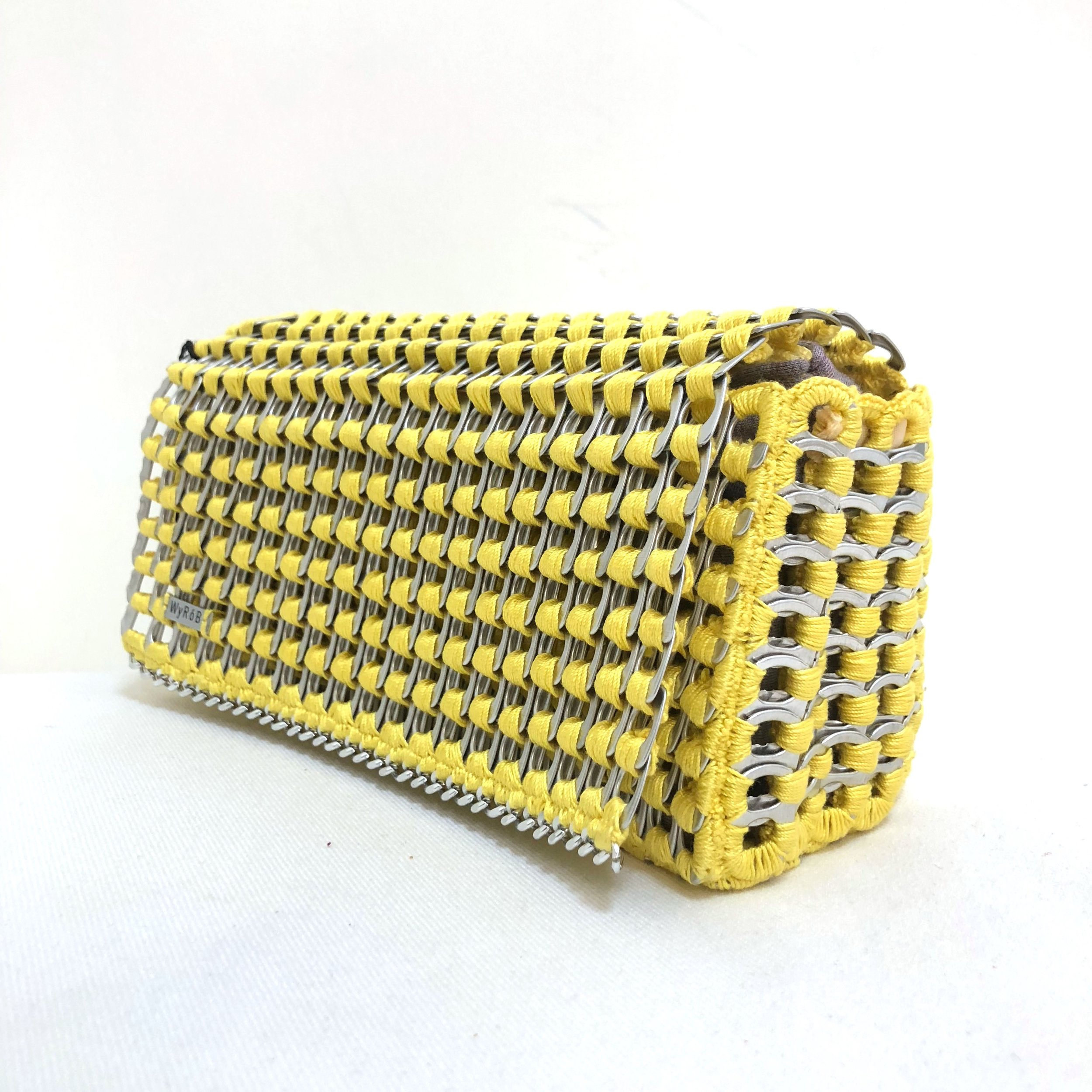 WYROB - BAGS MADE OF UP-CYCLEDSODA POP TABS