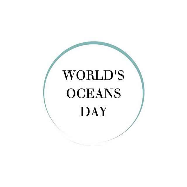 🐋 World's Oceans Day! 🌊 ⠀⠀⠀ We are celebrating the source of life today, the oceans! ⠀⠀⠀ May we always remember how essential they are, how much we owe them and how  important it is to keep them clean and healthy. ⠀⠀⠀ For years now, we and the industries have been treating oceans as a go-to garbage can, where our trash would magically disappear. Now we are collecting the fruits of our negligence - but nature can heal if we stop poisoning her. Let's all reflect today on the steps we can take to prevent polluting oceans, how else we can consume, who else we can support. ⠀⠀⠀ #worldsoceansday #oceans #environment #protection #womb #activism