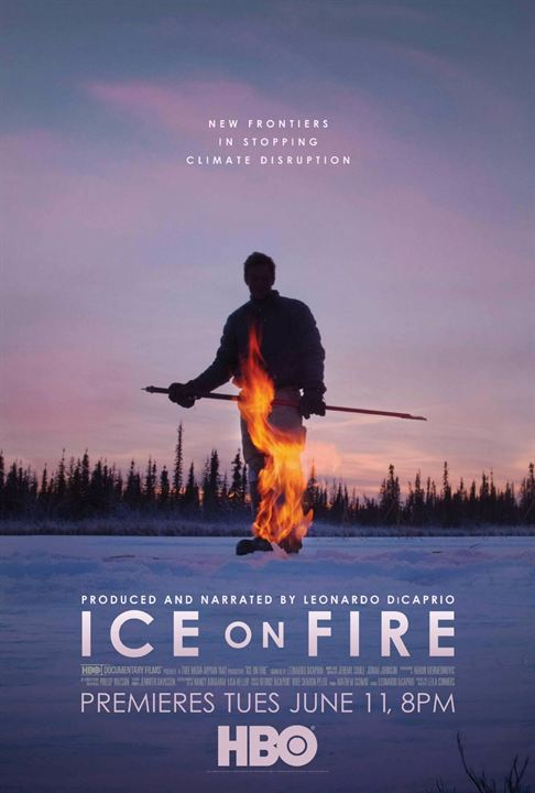 ice on fire movie poster