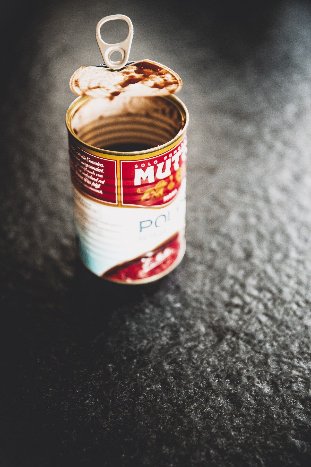 empty+food+can