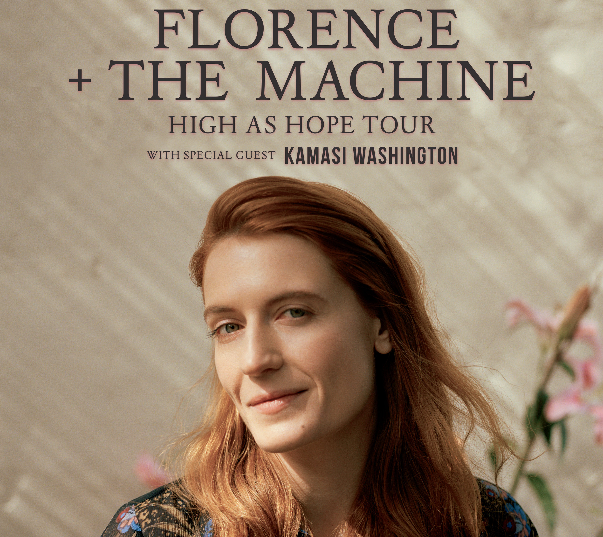 Florence + The Machine - w/ Special Guest: Kamasi WashingtonWednesday, September 26thDoors 5:30pm | Show 7:00pm