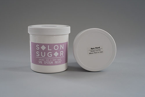 Our 2 types of Spa sugar can be used alone or blended to remove any type of hair.