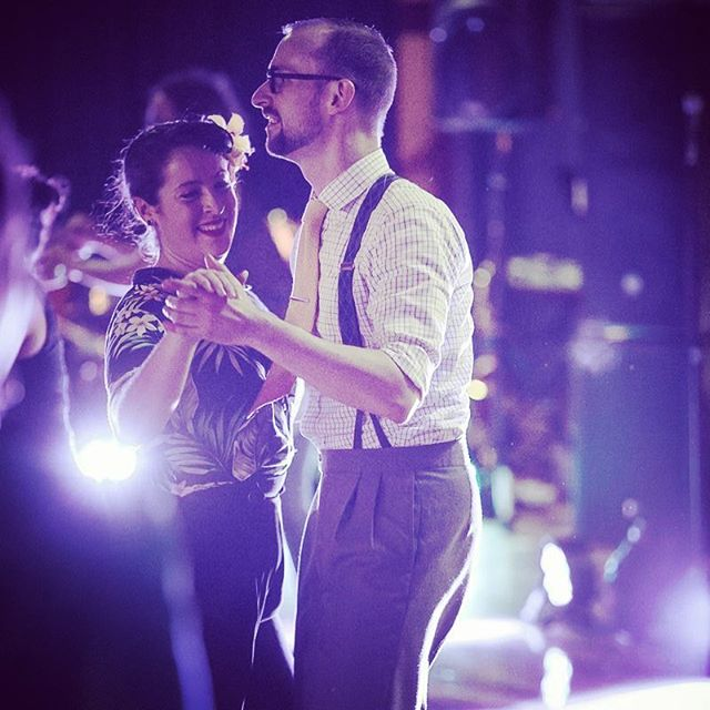 At the Battle of the Big Bands! #auckland #swingdance #vintage #jazz #balboa