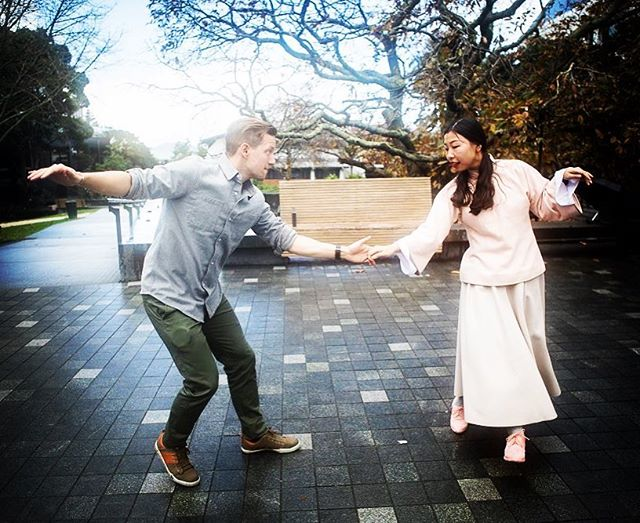 Swing Dancing on a wet day - what better way to banish the winter blues? #swingdance #auckland #ilovetakapuna #vintage #jazz