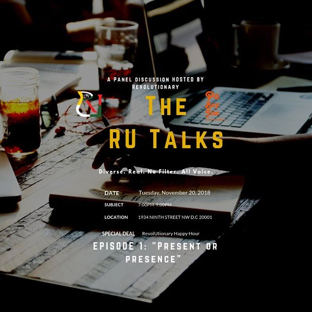 Today‼️: The RU Talks Episode 1 Come Out & Show Out,