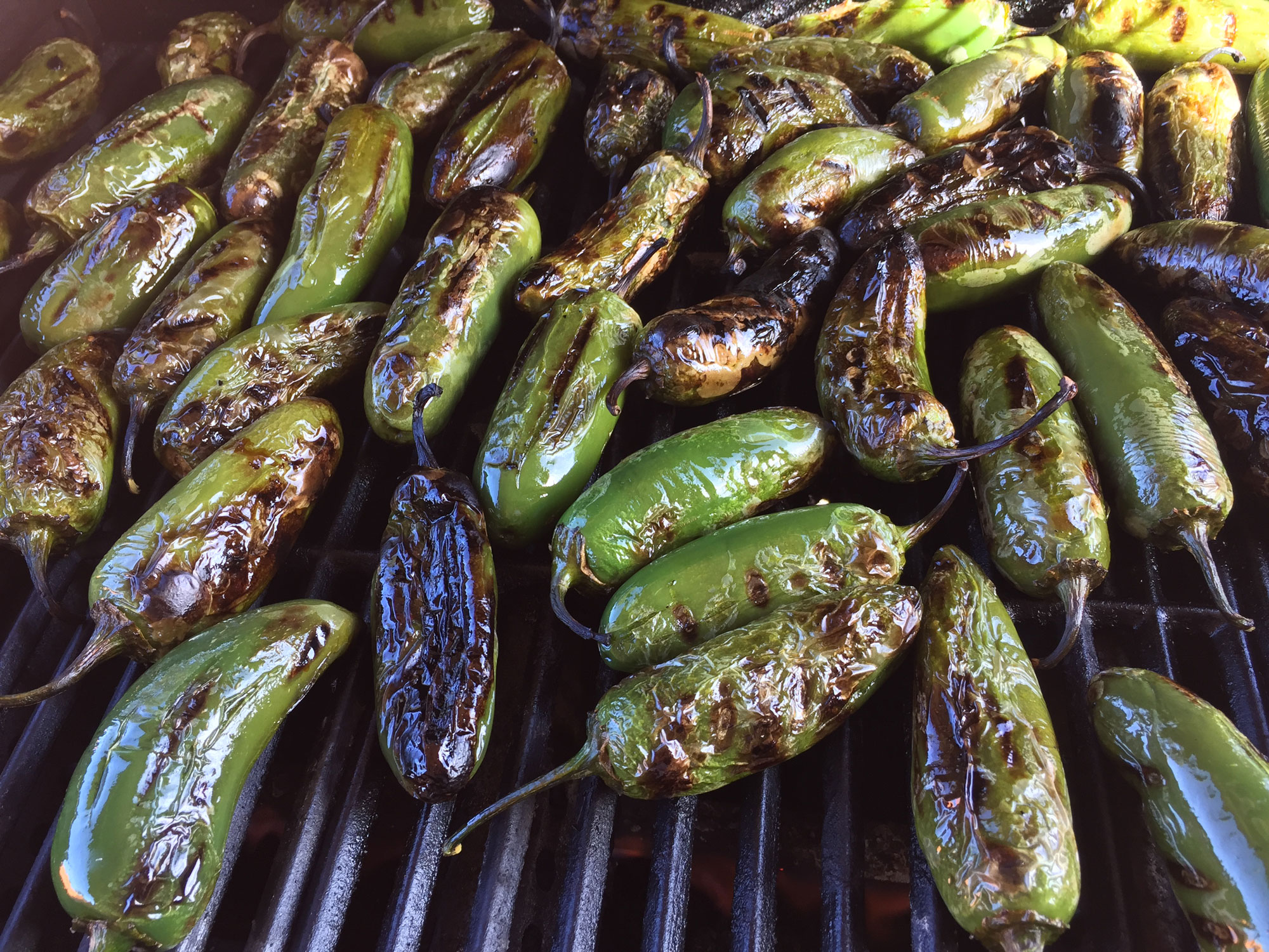 Our Jalapenos are always freshly roasted