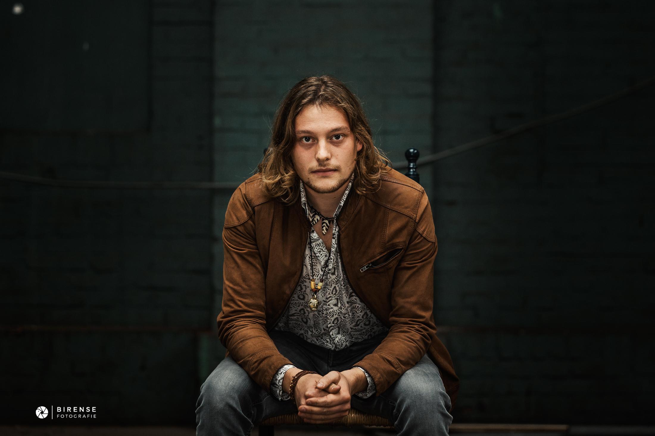 Between The Jars rock band The Netherlands - drums Max portrait 2018 by Birense Fotografie (1 van 1).jpg