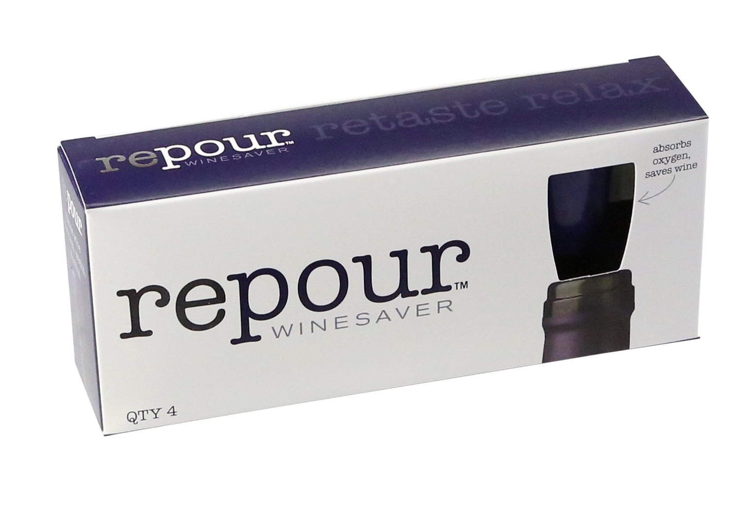 Recommendation: - The Repour wine saver