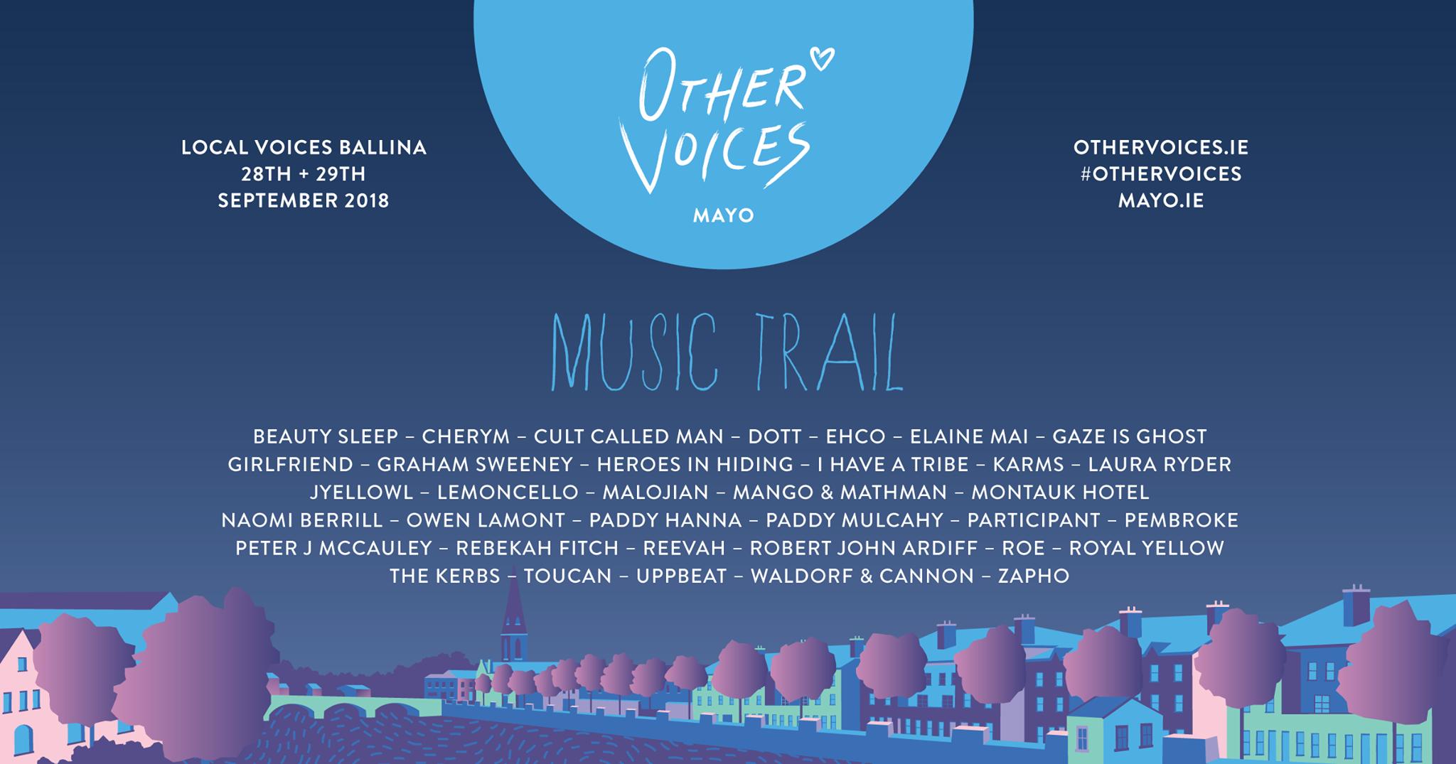 Other voices Music PR Marketing Ireland