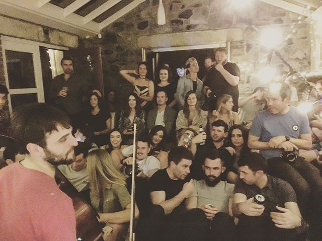 Packed house for the always amazing @conservatory_sessions_dublin_  with @pinethepilcrow