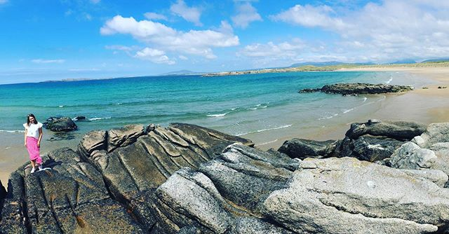 My new favourite beach. 15 mins down the road 😀