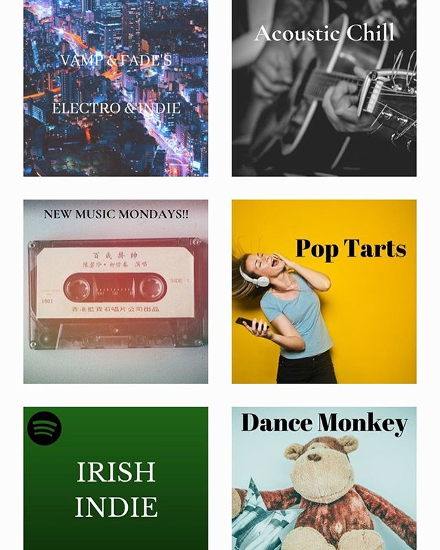 Vamp and Fade have created a bunch of great playlists!! Check em out and get in touch if you have music that suits!  Www.vampandfade.com/playlists #spotifyplaylist #spotify #newmusic #newmusicfriday #irishmusic #irishmusician #irishmusicparty #playlistcurator