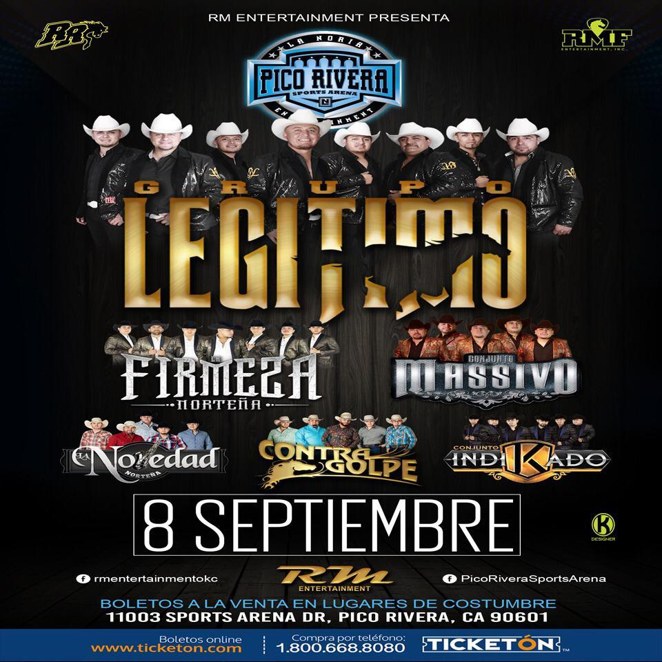 Grupo Legitimo y mas - Domingo 8 de septiembre, 2019