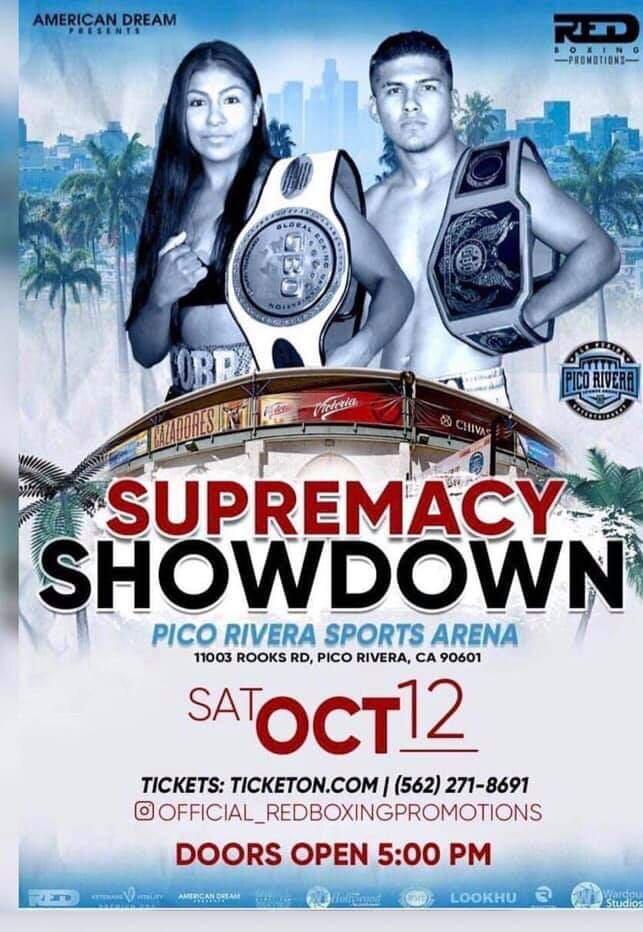 SUPREMACY SHOWDOWN - SABADO 12 DE OCTUBRE 2019