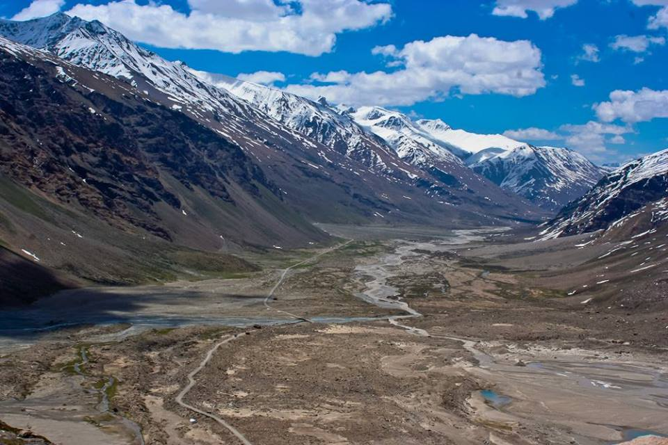 The first look at Zanskar after crossing the Pensi La