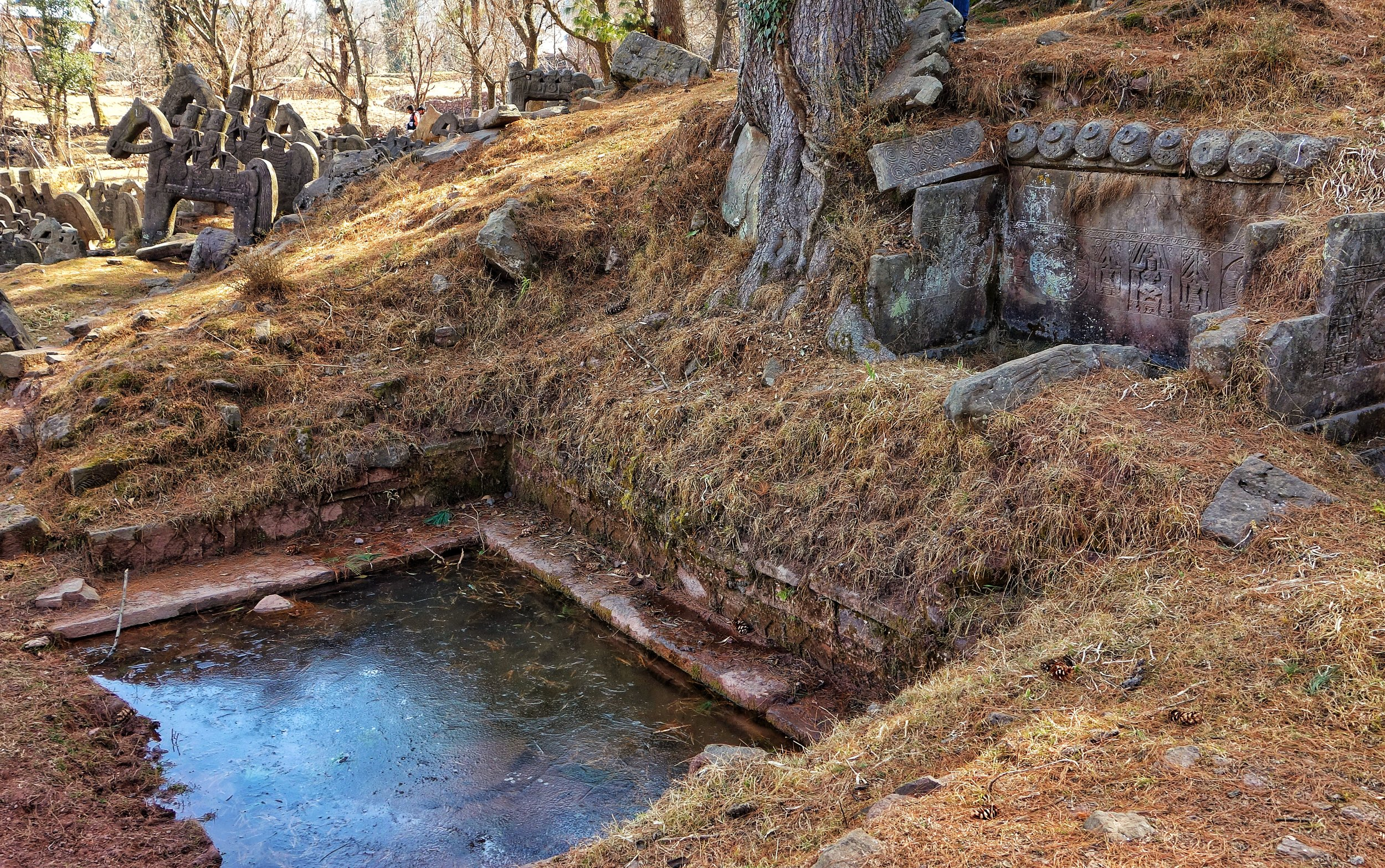 The Boali or Ponds fed by natural spring water