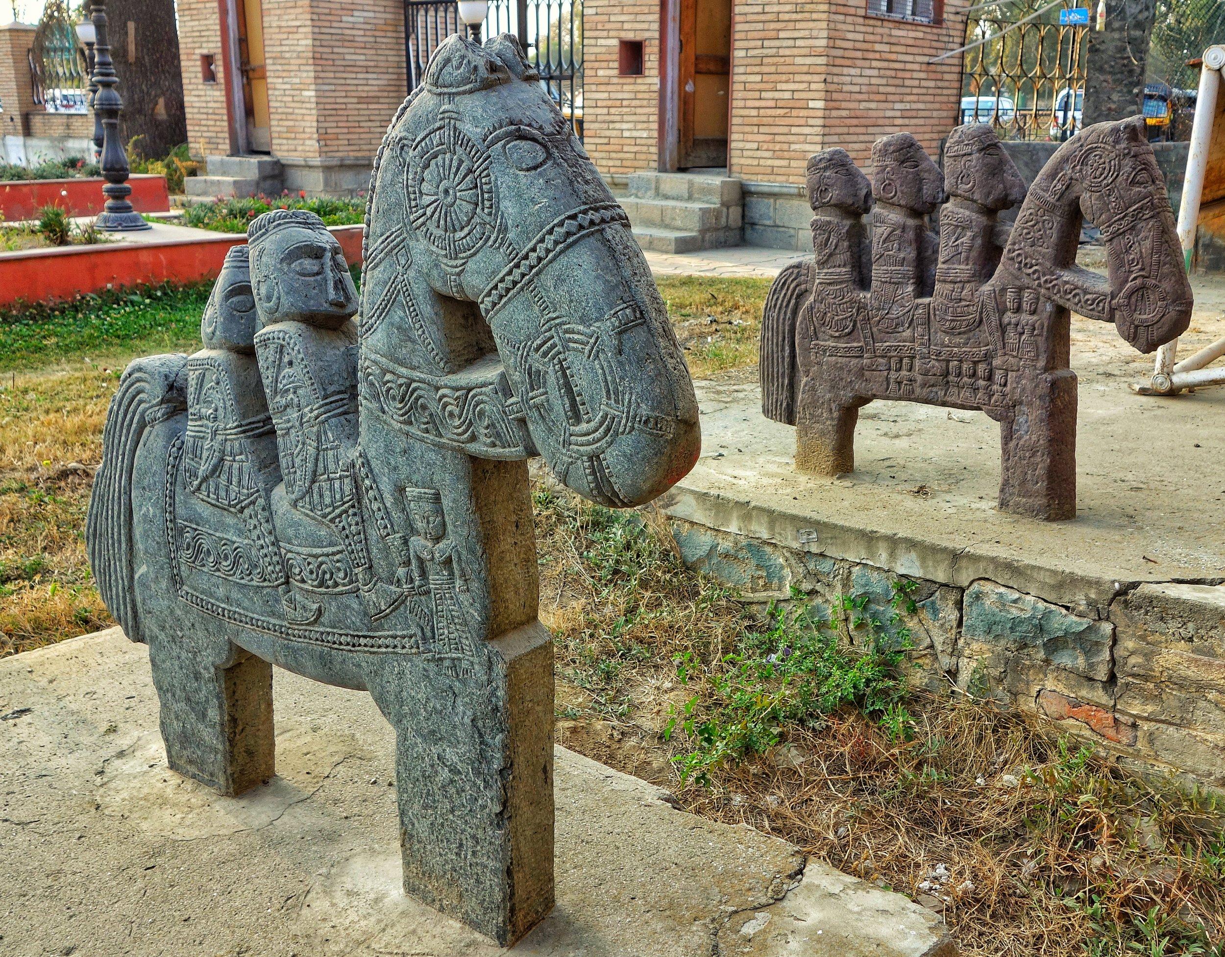 ghodagali-horsemen-spsmuseum-srinagar