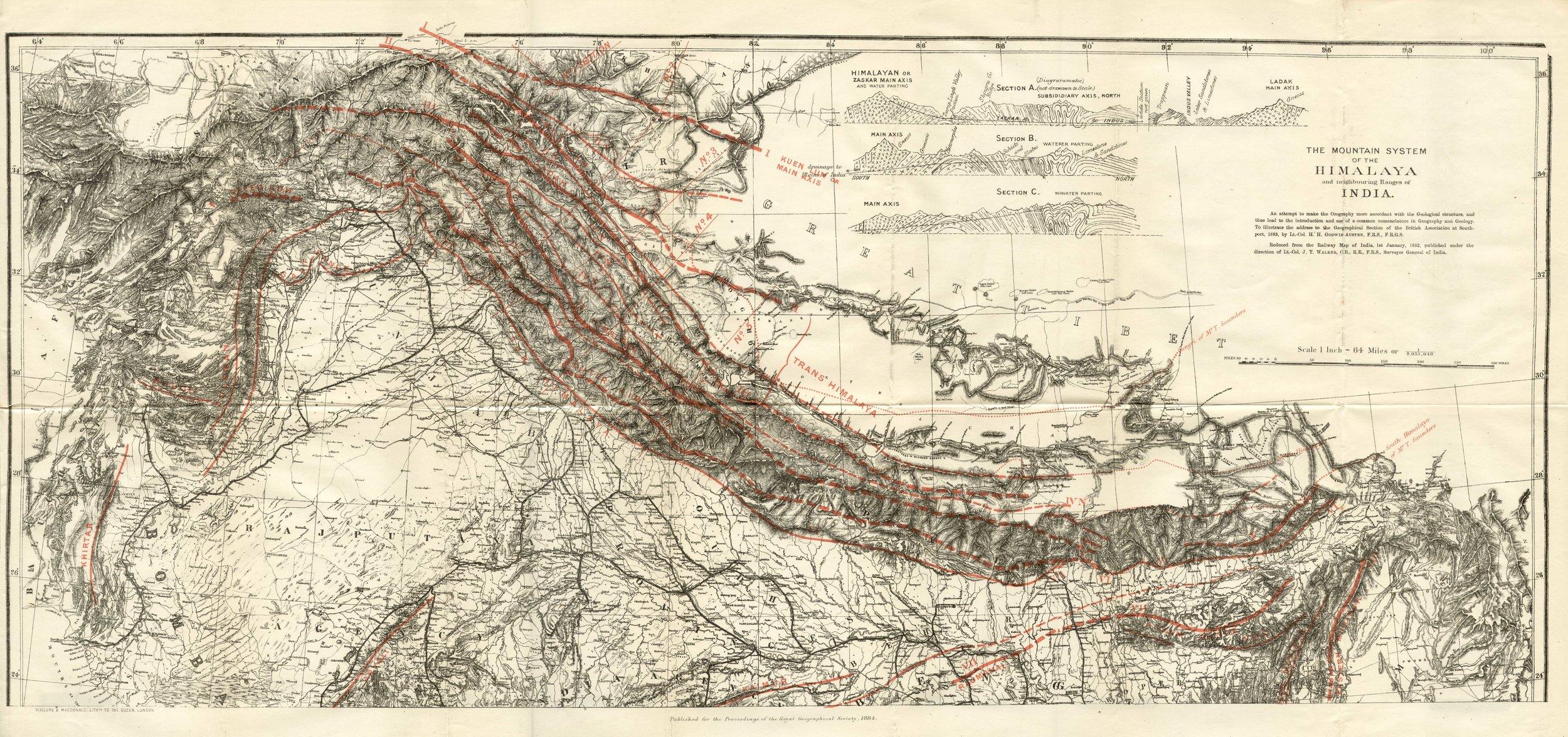 1884 Mountain System of Himalaya.jpg