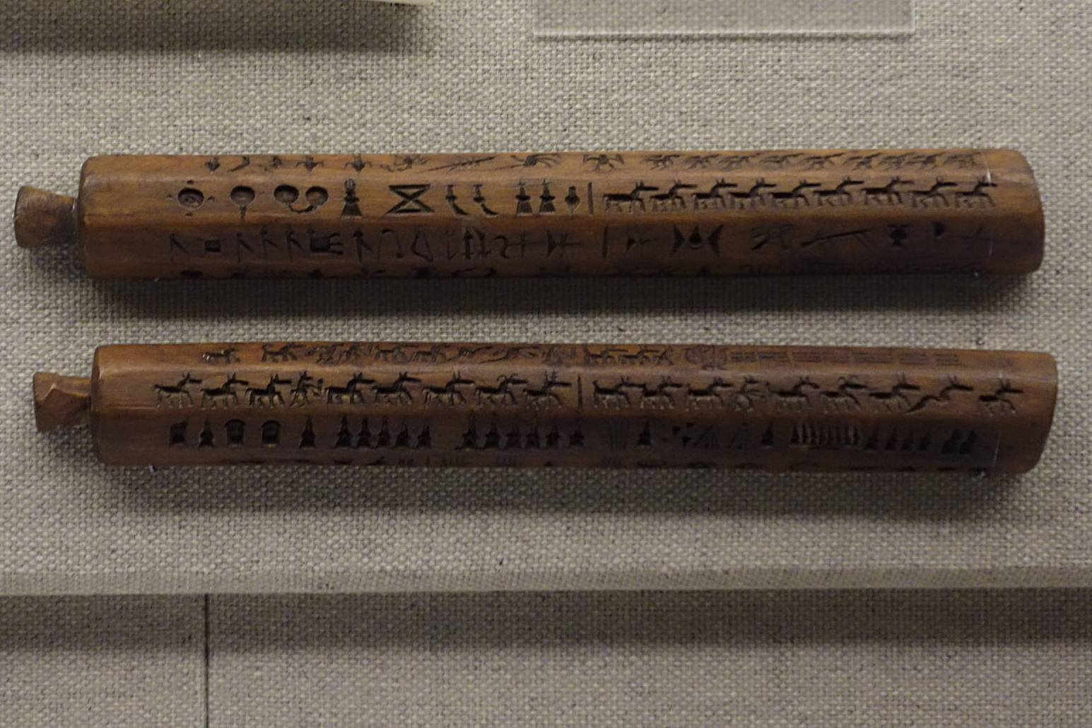 Carved Wooden Sticks used for Printing Tibetan Qinghai