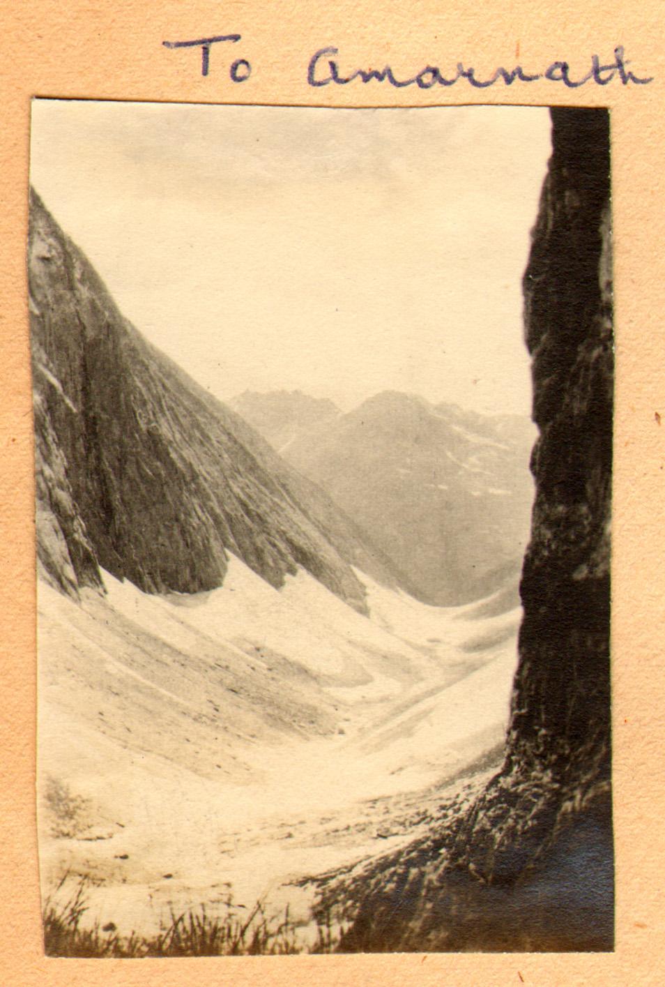 150 1920 To Amarnath, Kashmir by Ralph Stewart