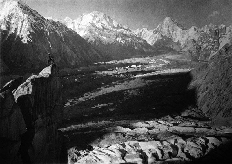 The Baltoro Glacier from Urdokas