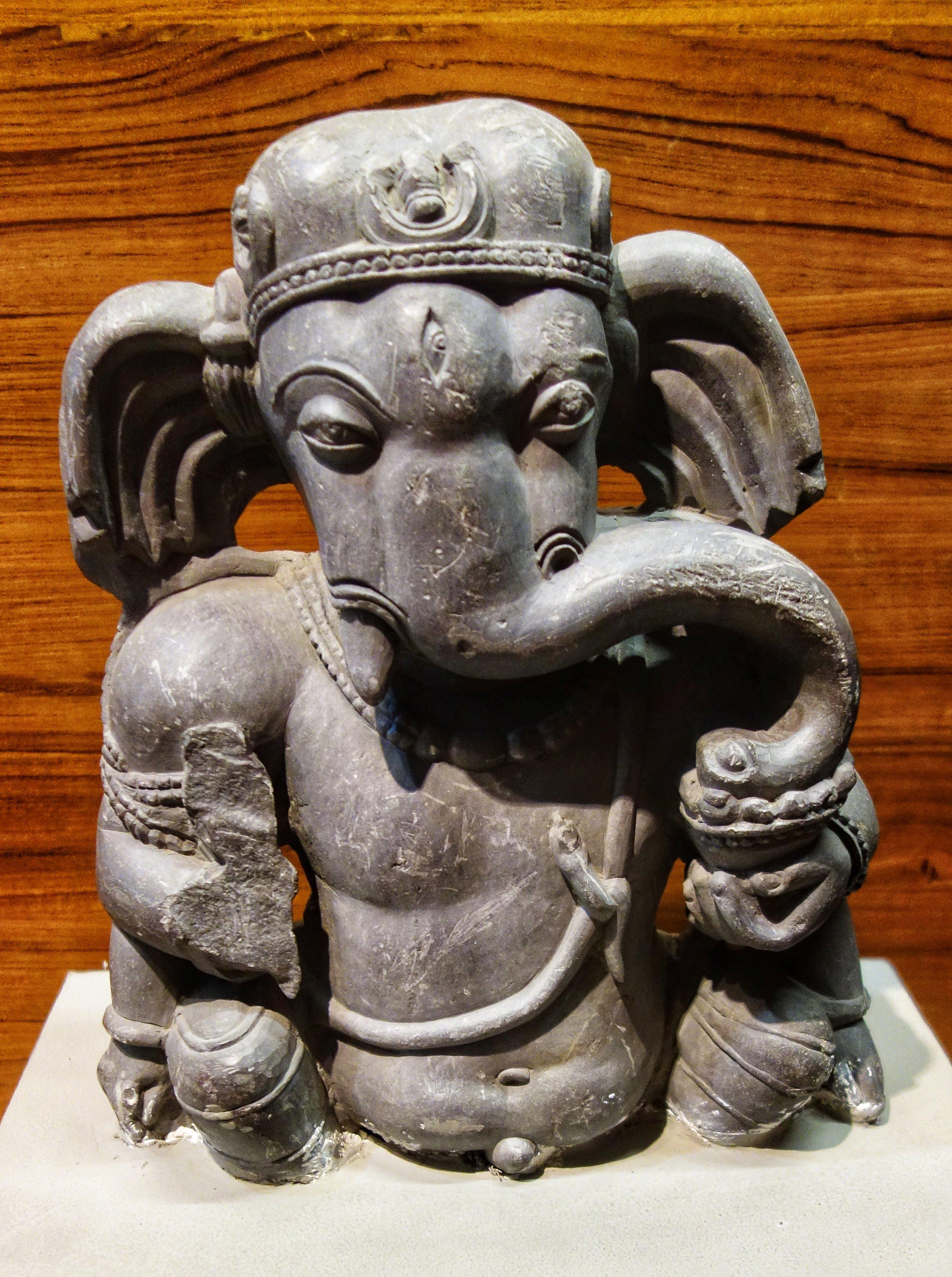 Ganesha : 9th Century, Stone