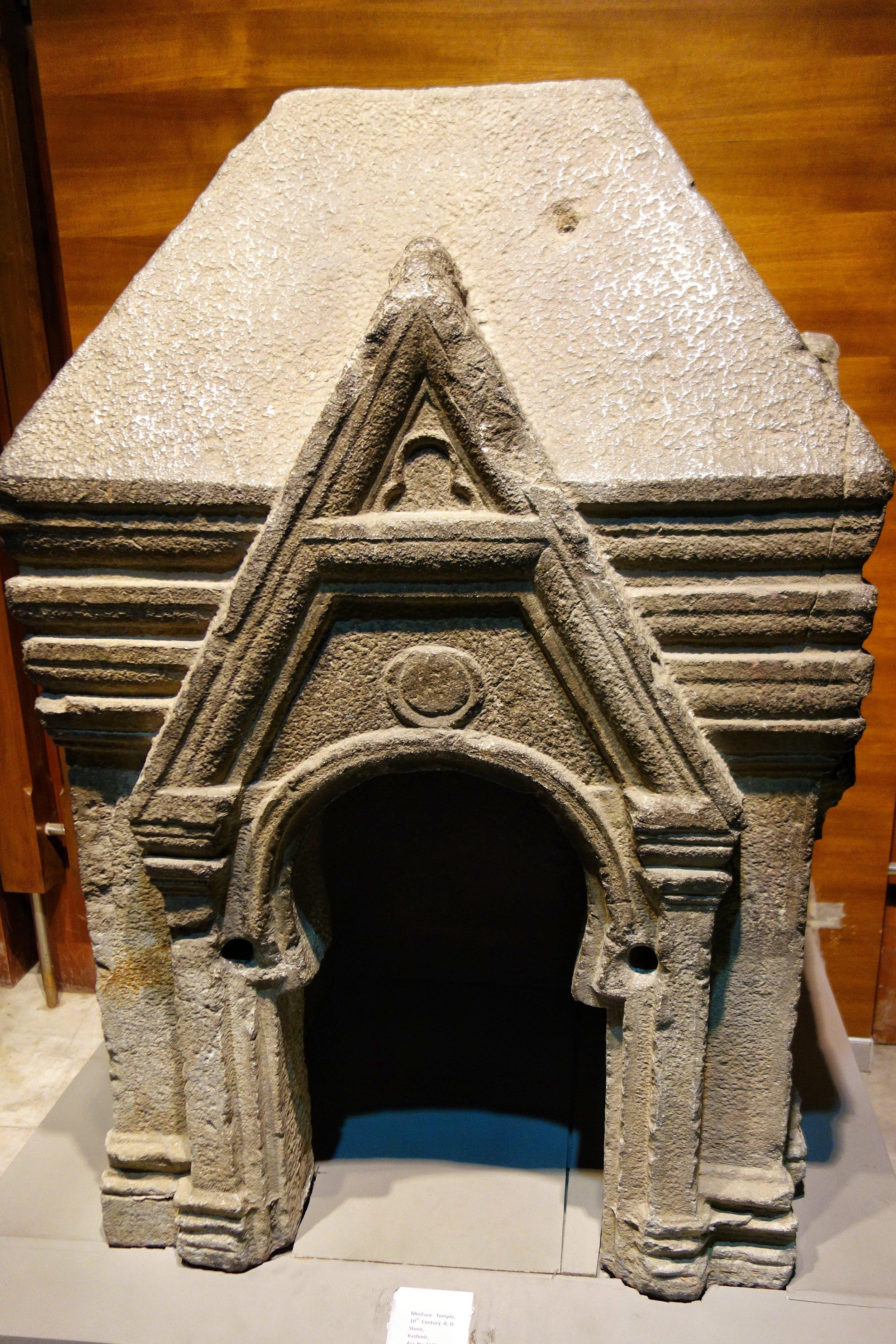 Miniature Temple : 10 th Century, Stone