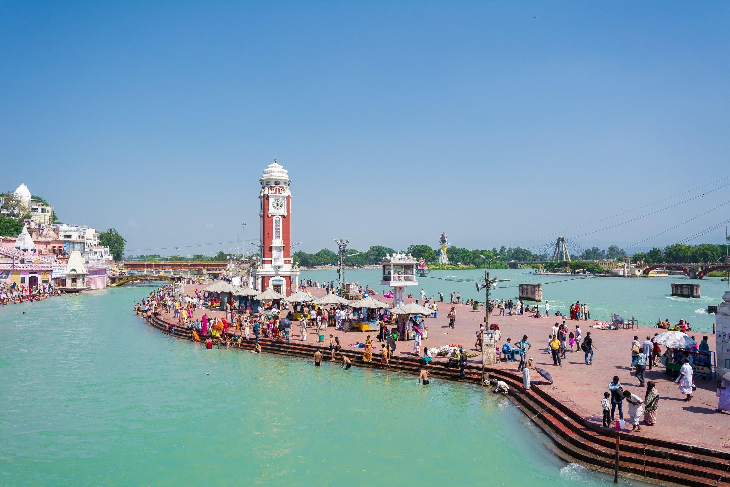 The Ganges at Haridwar