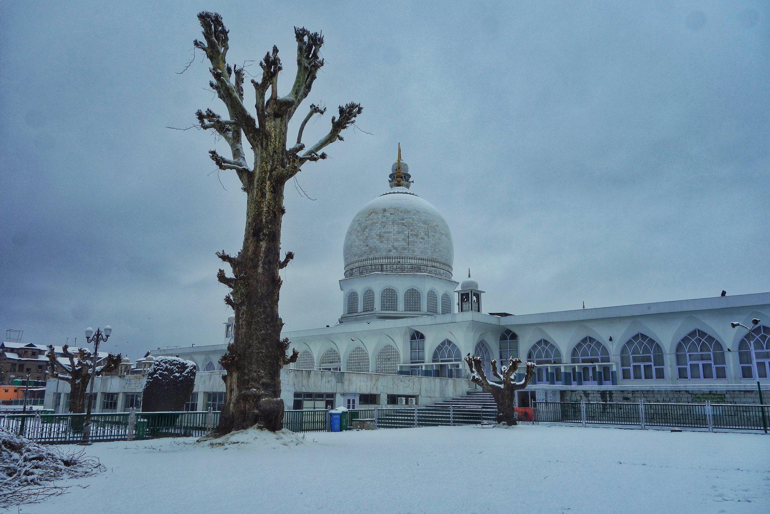 The Hazratbal Dargah