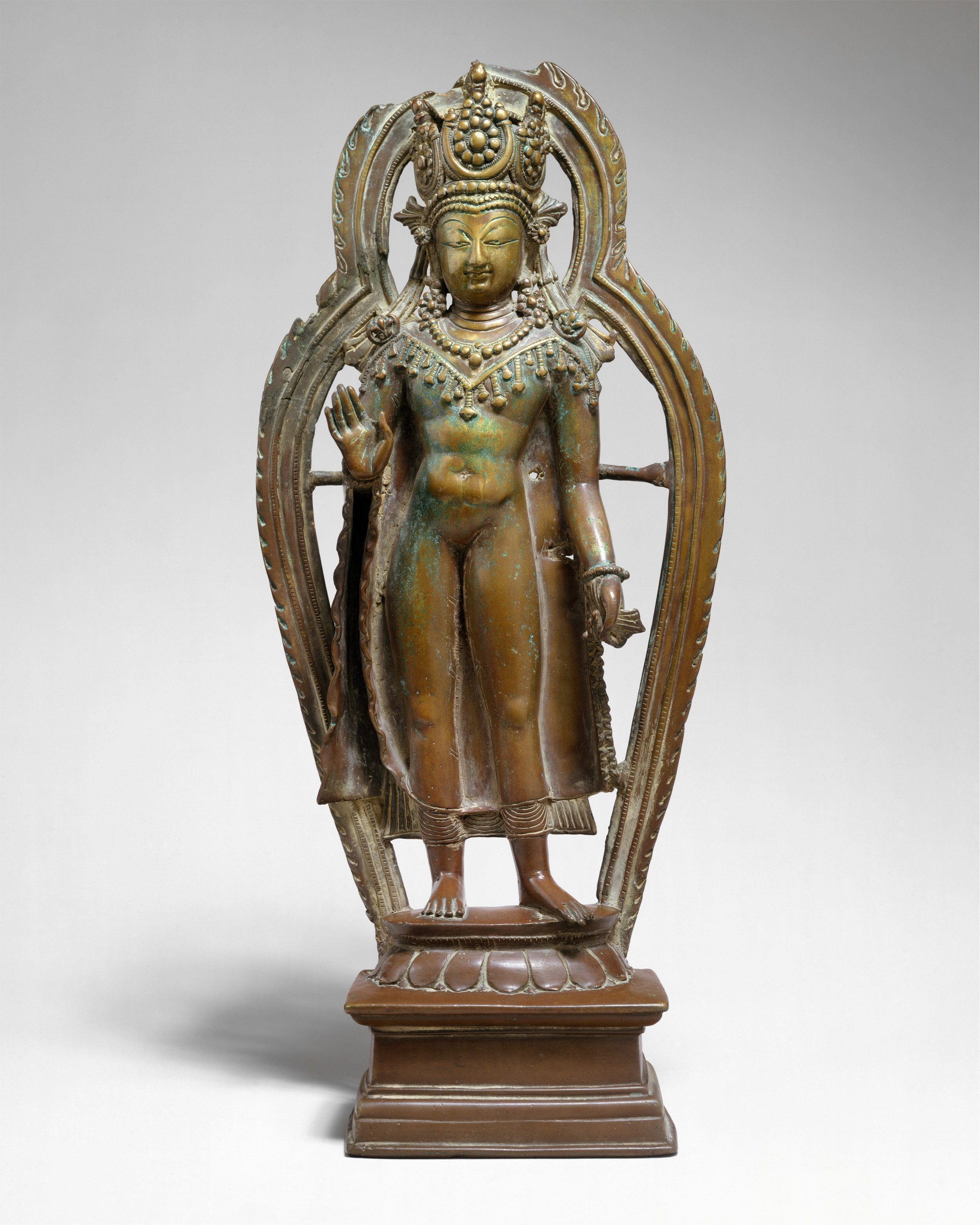 A Crowned Buddha from Kashmir