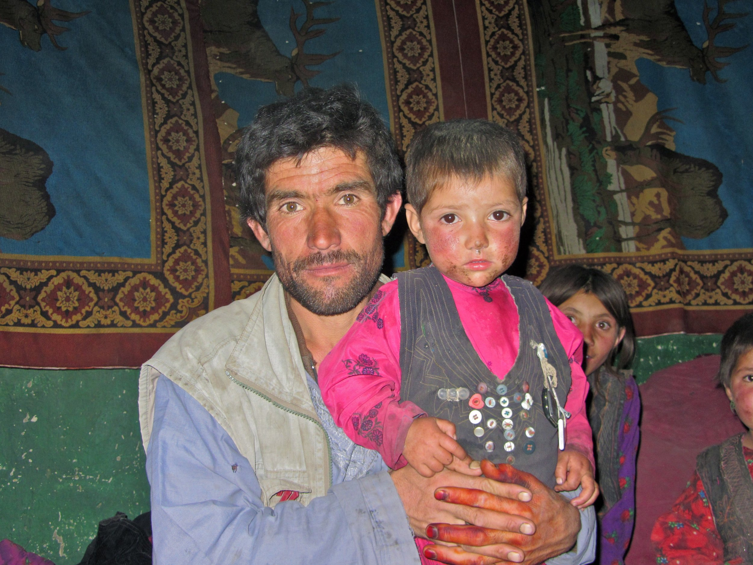 A Wakhi Father and son