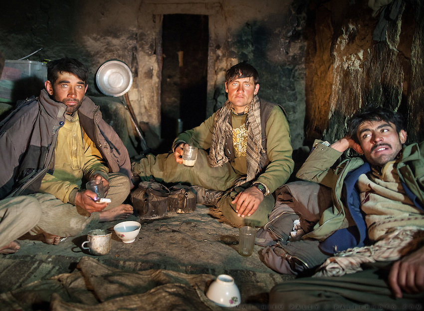 A Group of Wakhi Men
