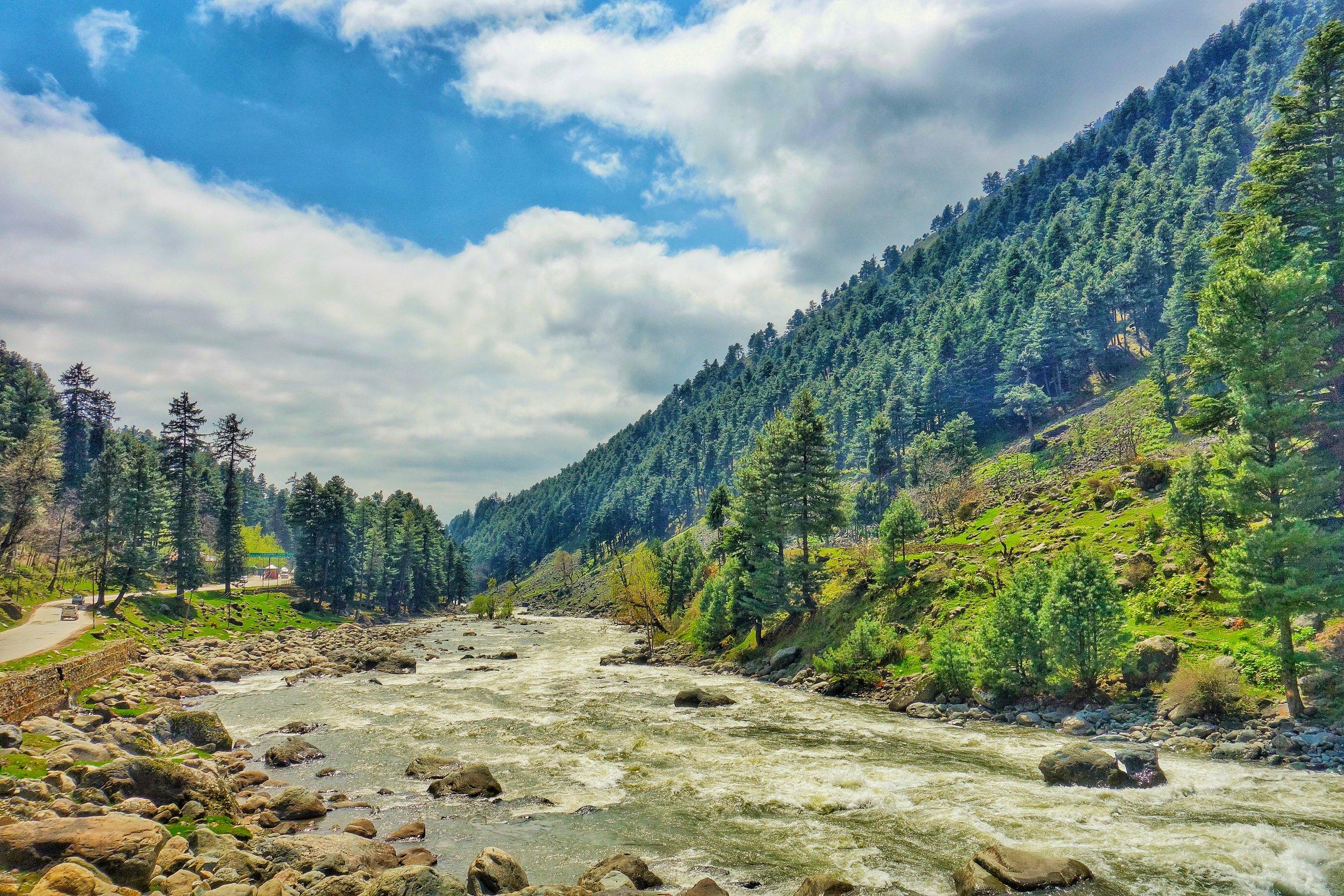 The Lidder River near Pahalgam