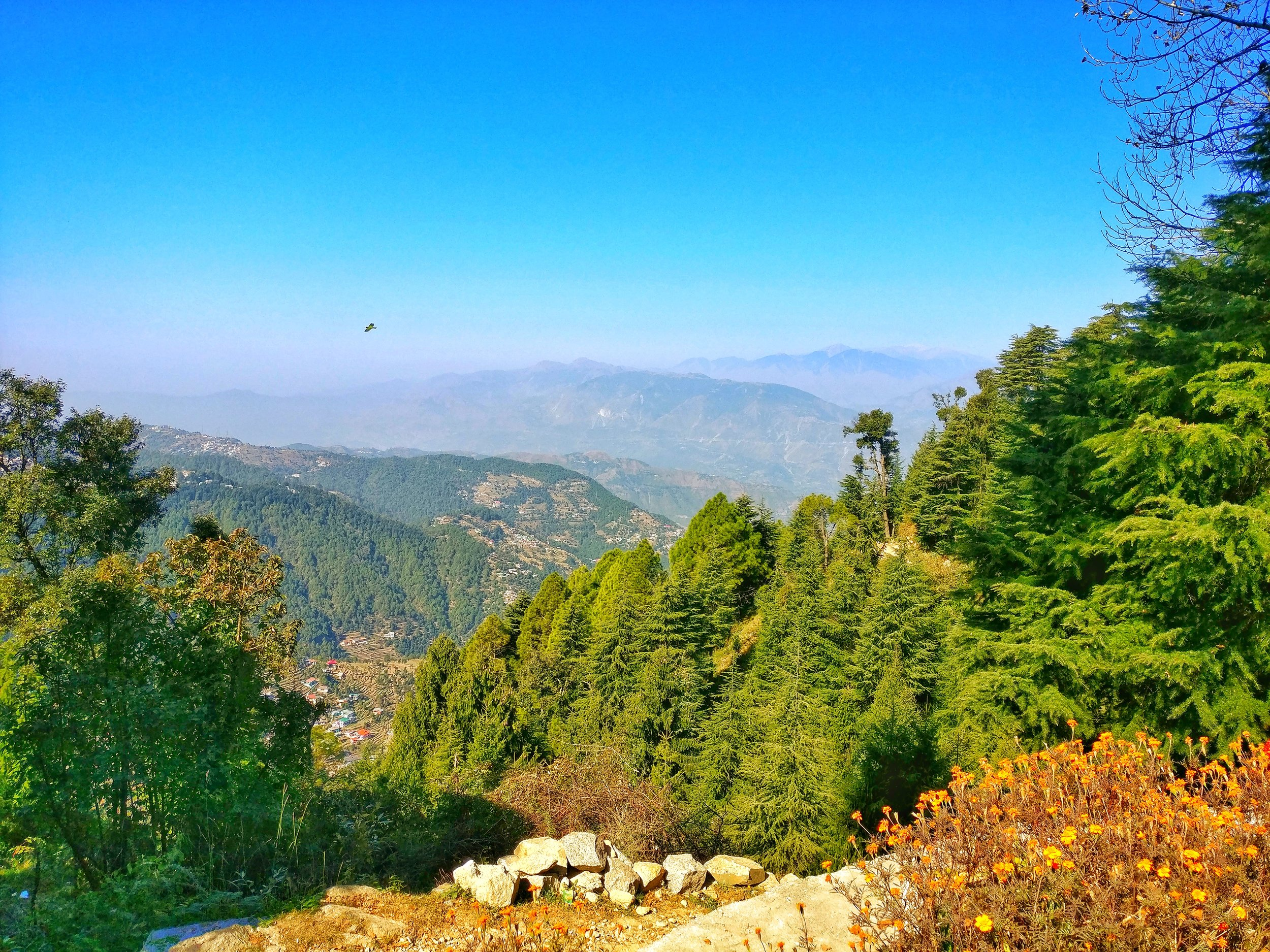 A view of the Chamba region from Dalhousie