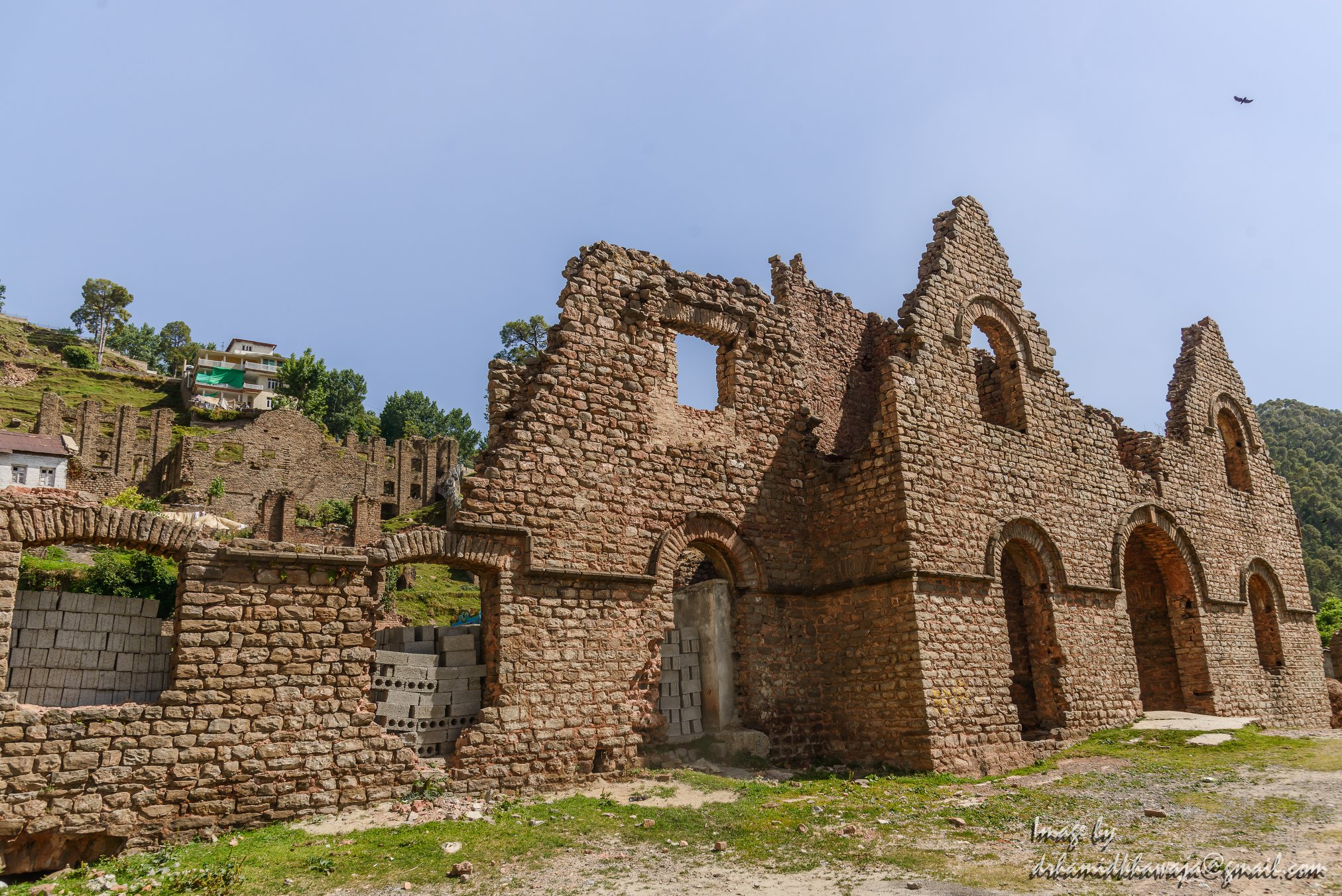 The Ruins of the Murree Brewery in Murree.