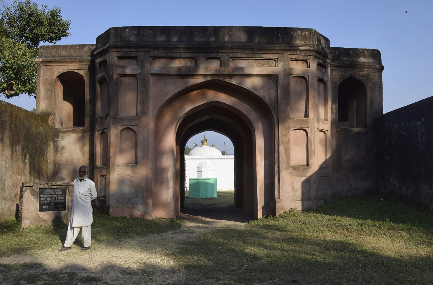 The Entrance to the Sarai