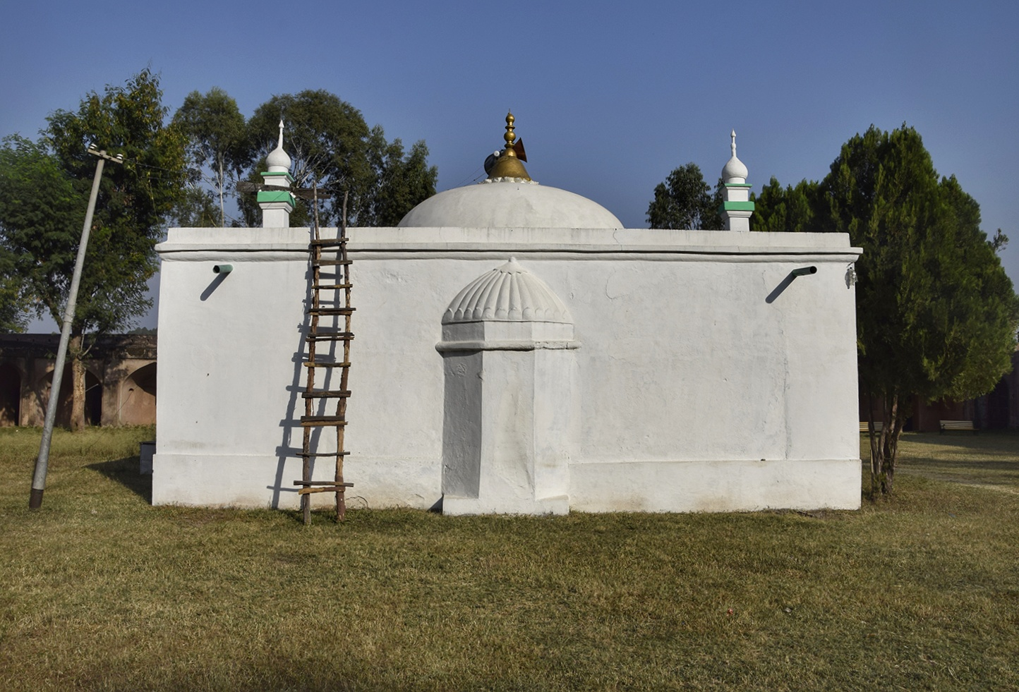 A fairly recent addition, a Mosque inside the Sarai.