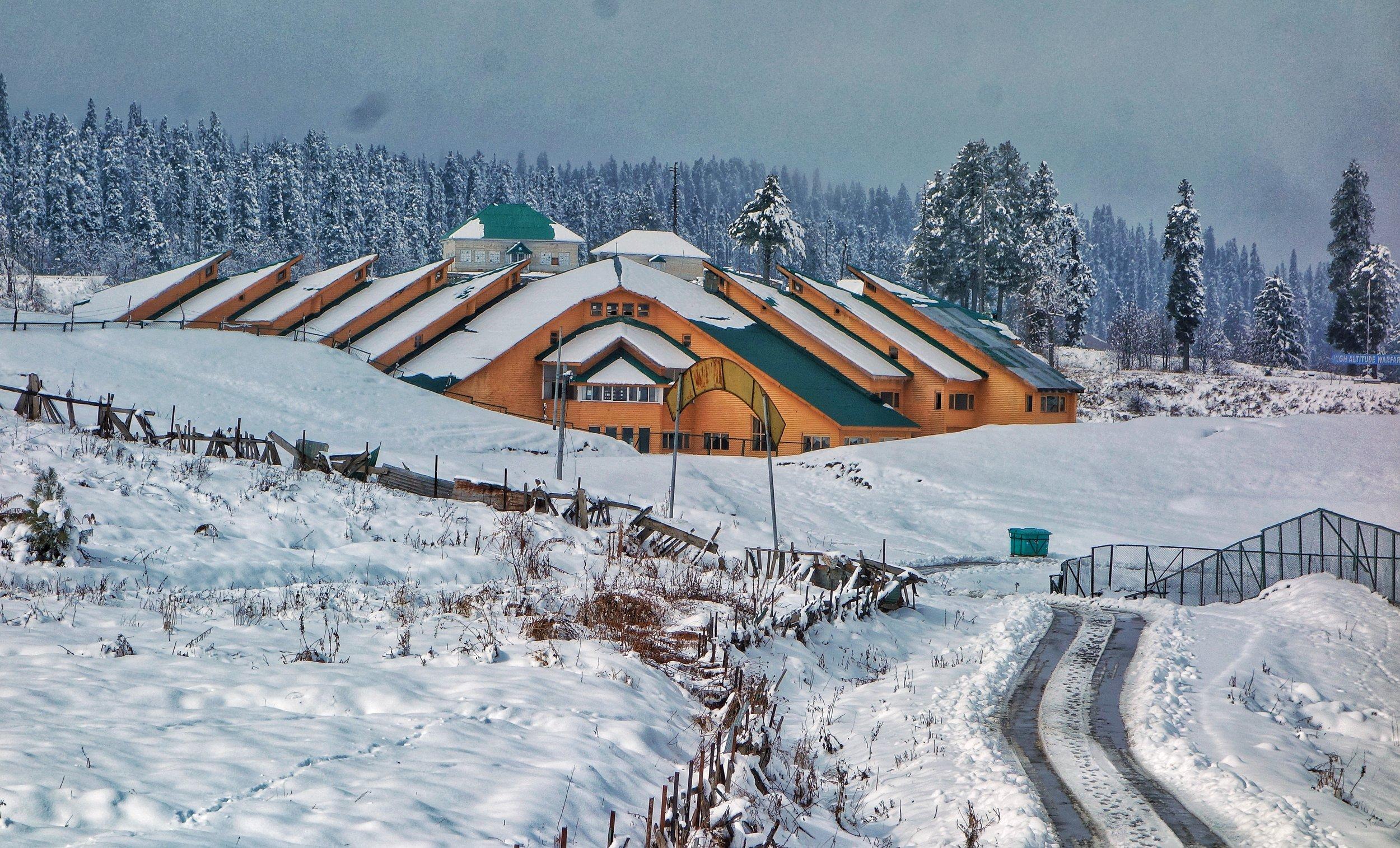 Kashmir in Winters -