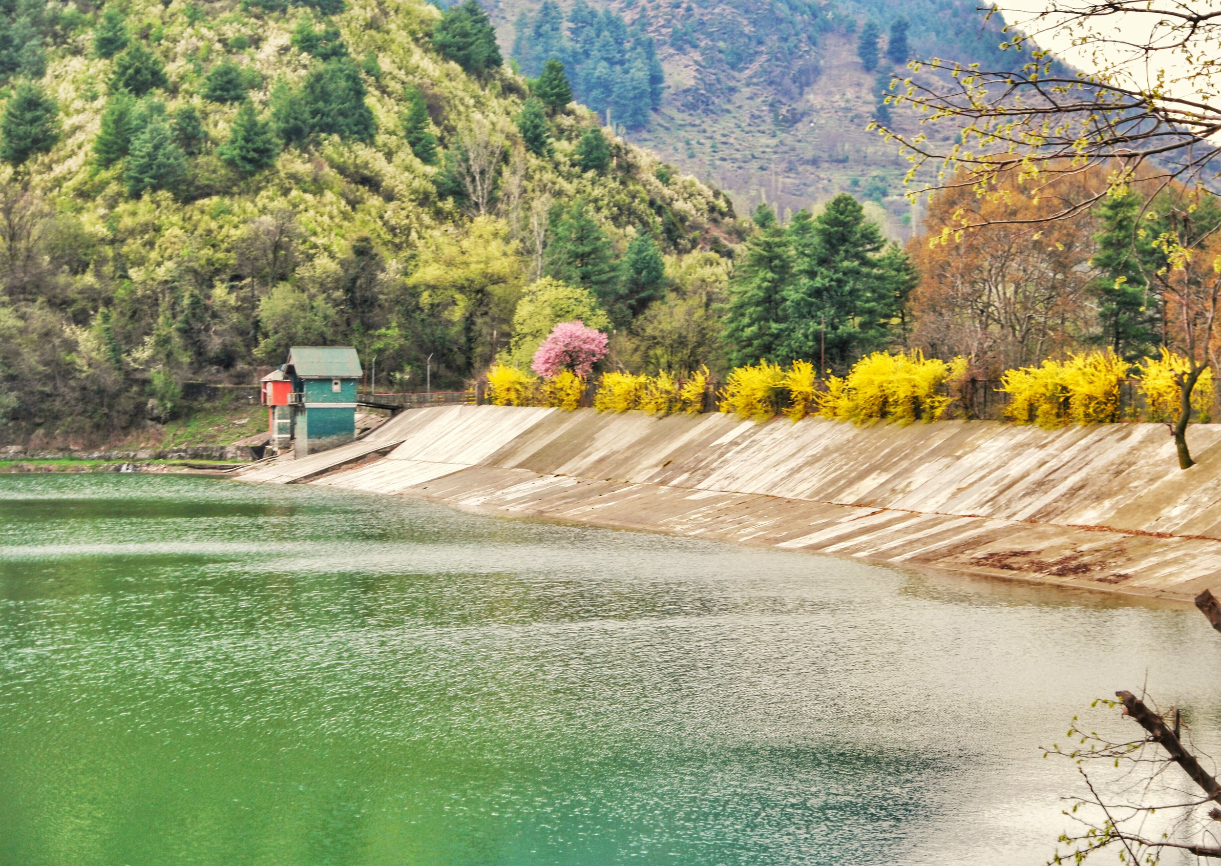 The Sarband Reservoir which lies next to the Dachigam National Park and the Harwan Gardens supplies drinking water to the city of Srinagar