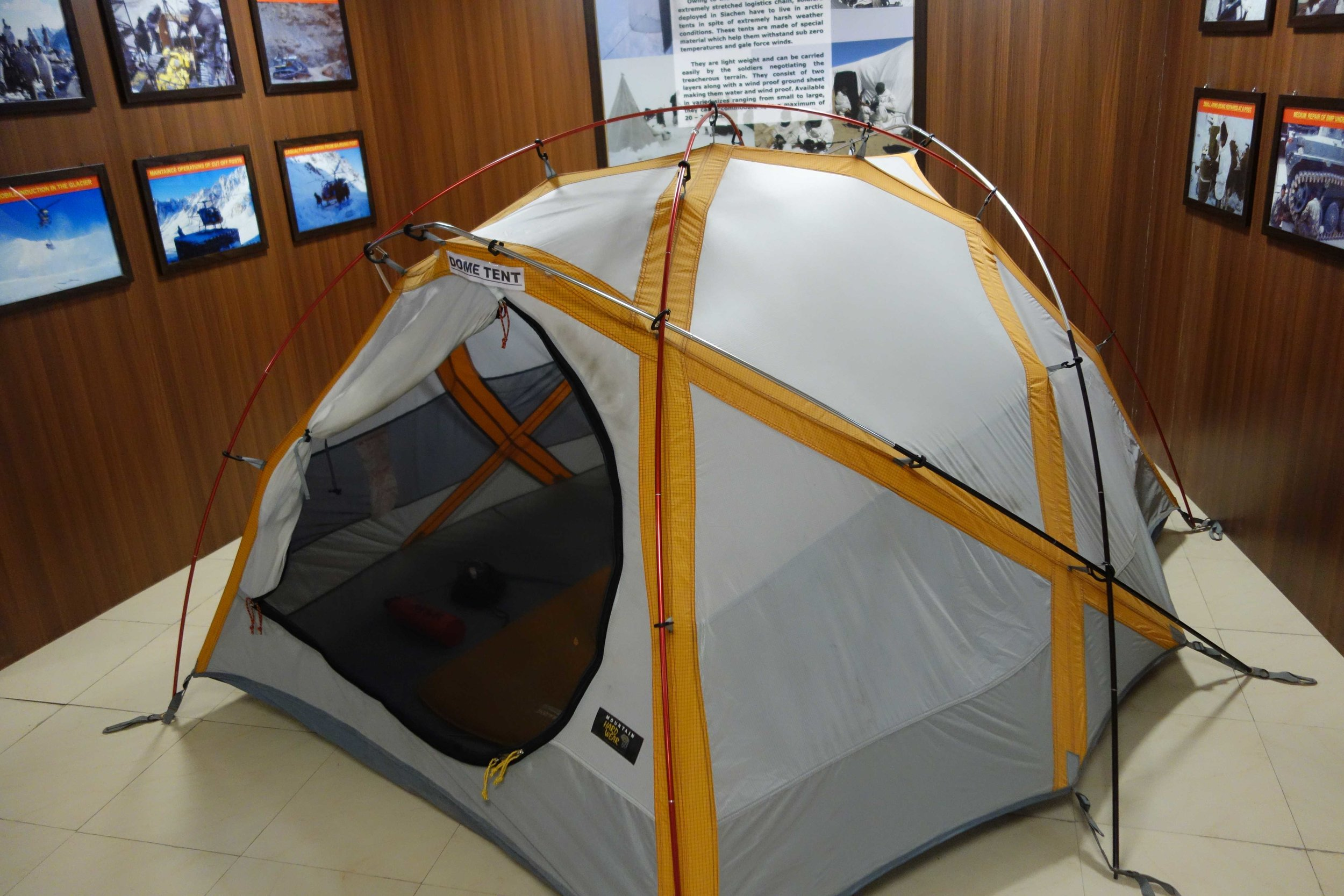A Dome Tent