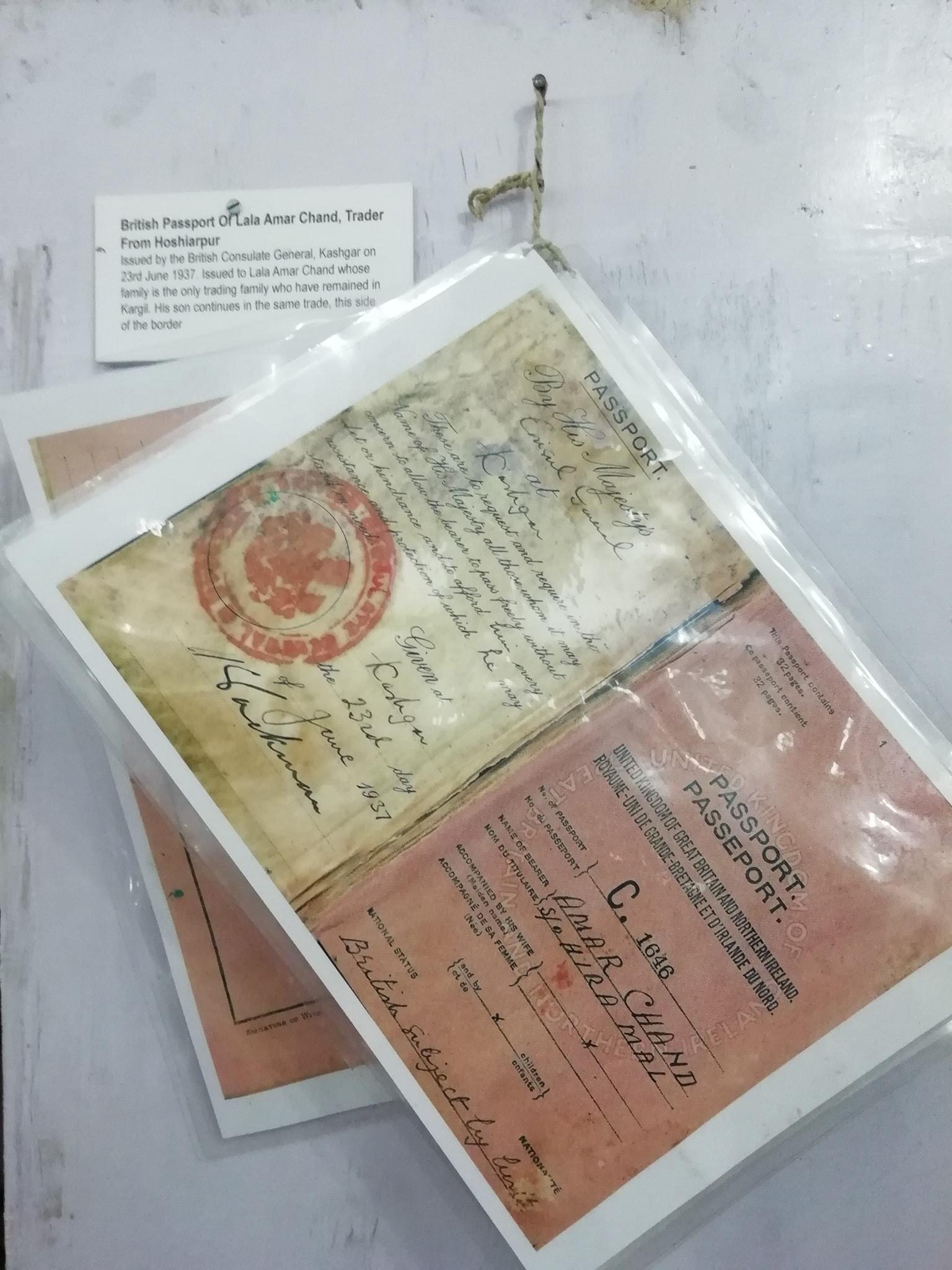 passport-kashgar-amarchand-hoshiarpur-kargil-leh-yarkand