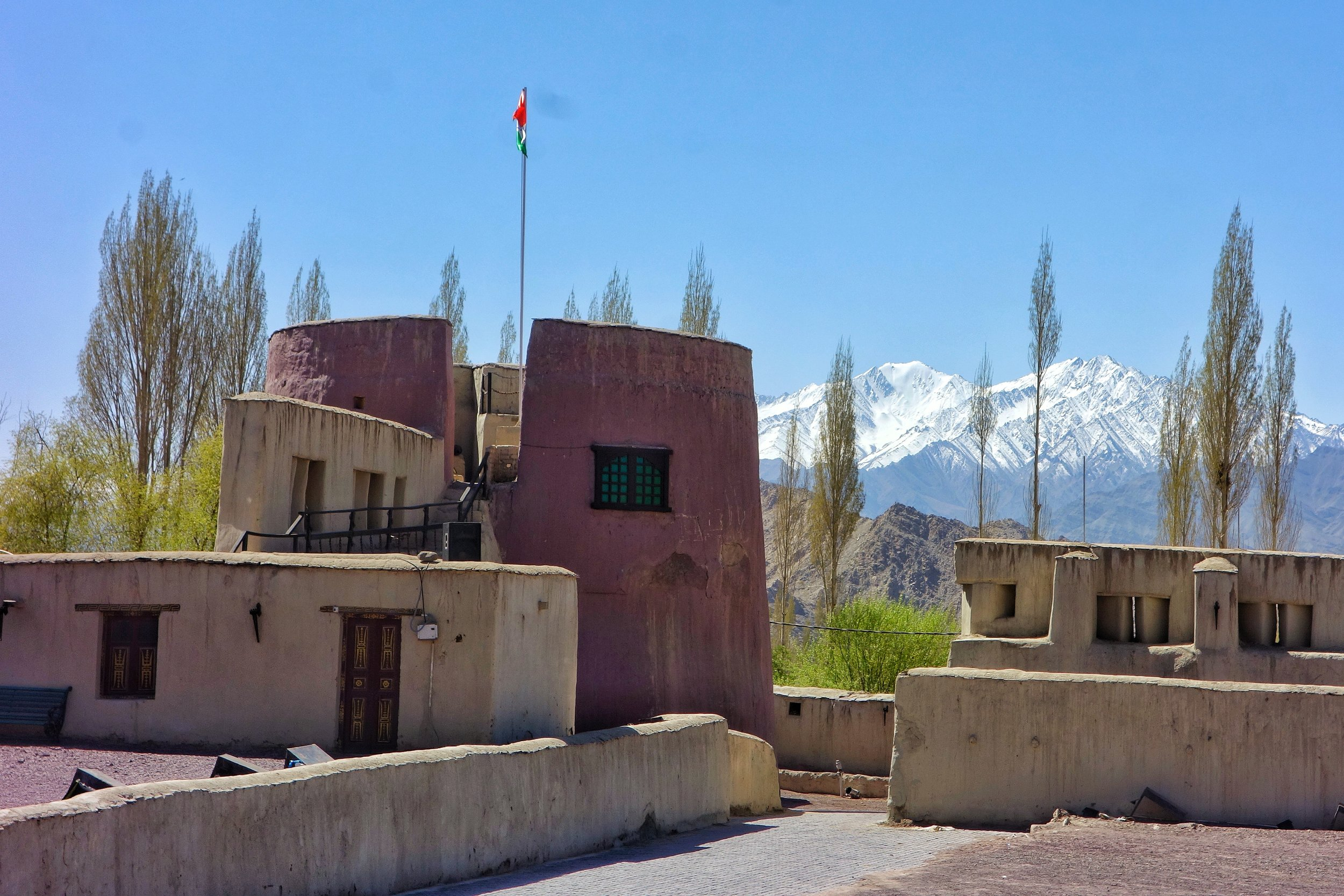 The Zorawar Fort , Leh