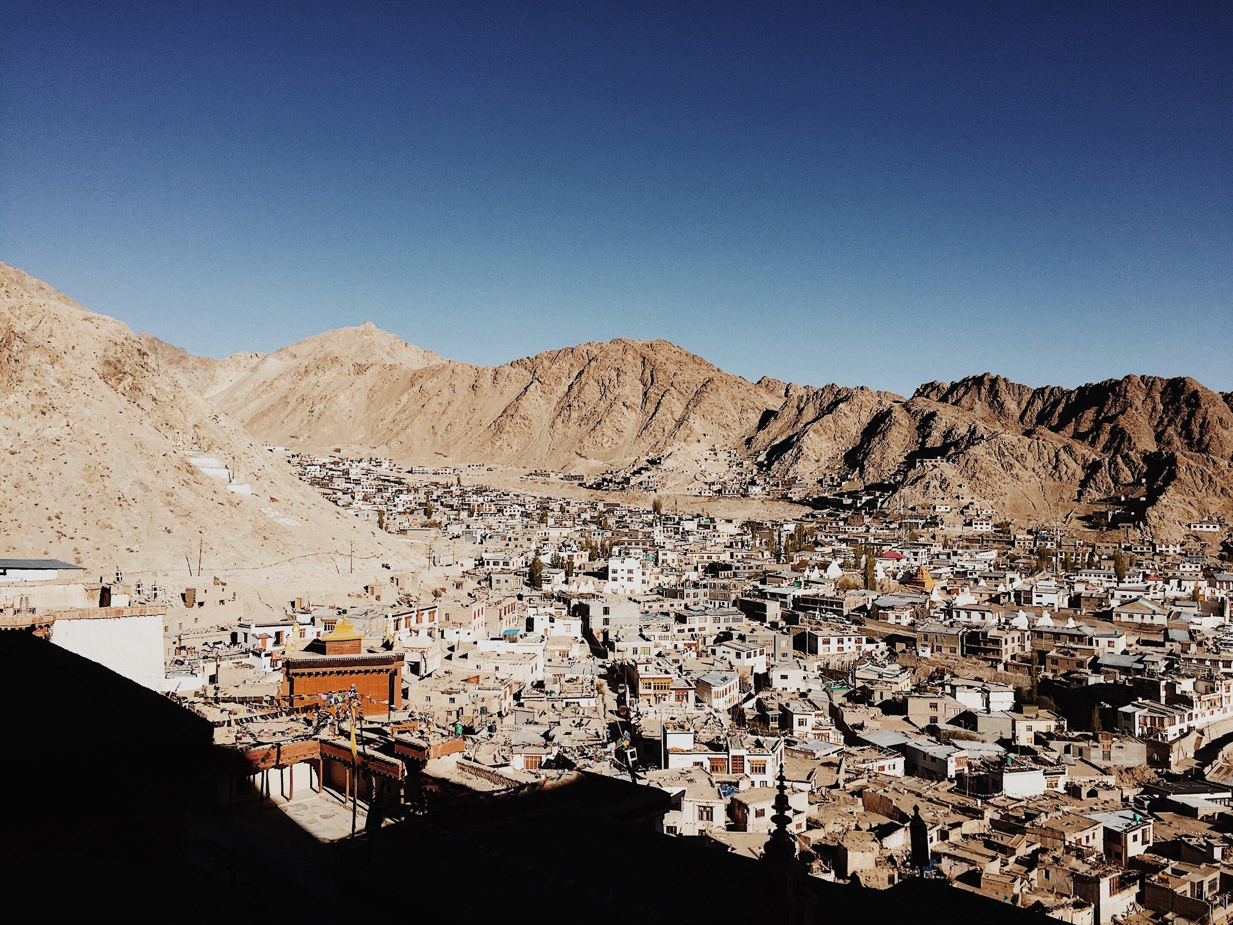 Leh Town. Pic by Shreya Kollipara