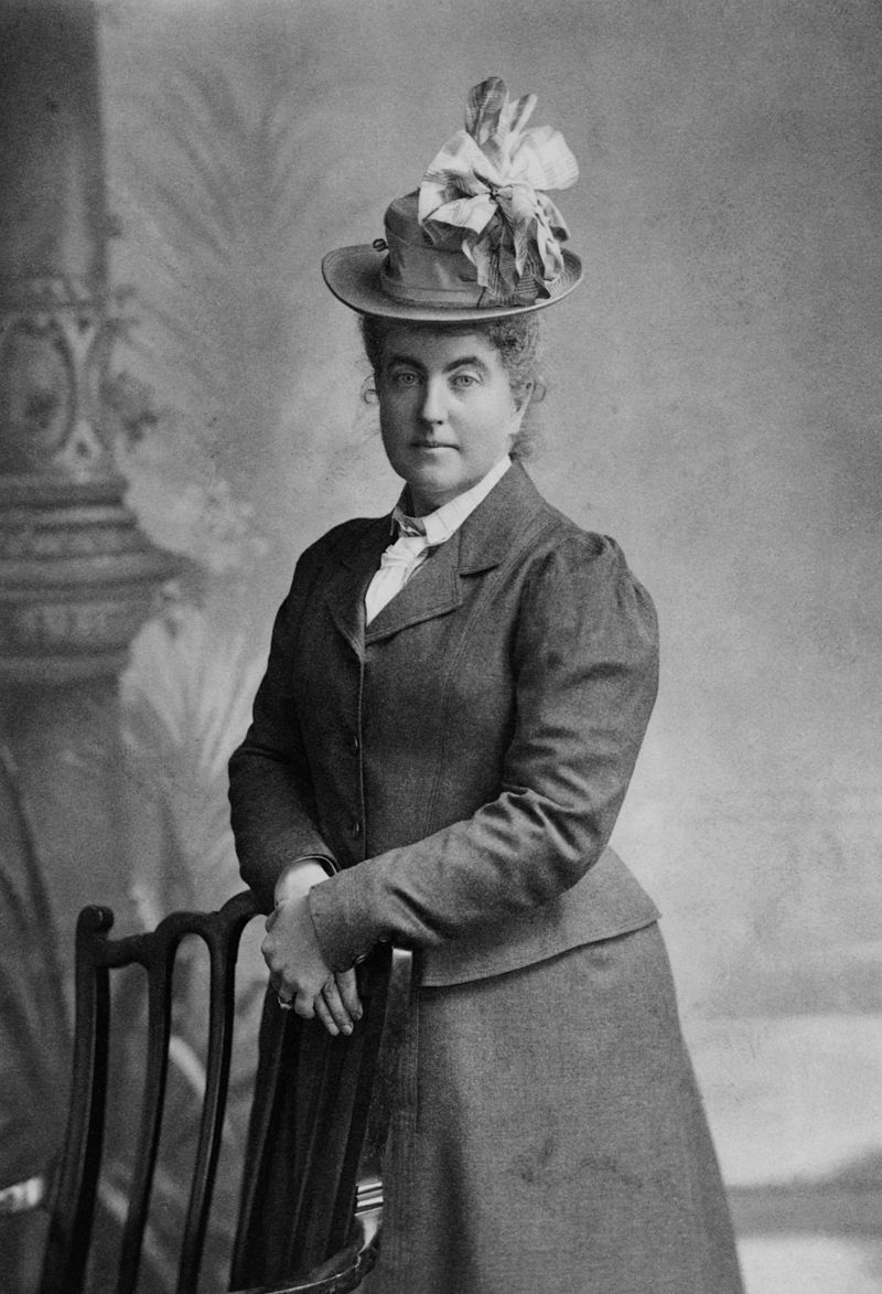 Ms.Fanny Bullock (Pic Courtesy Wikipedia)